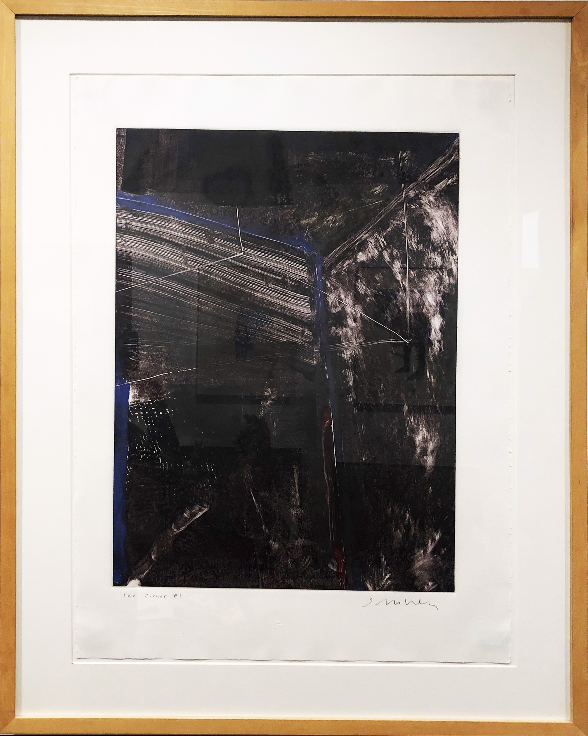 Corner #1 by Fritz Scholder