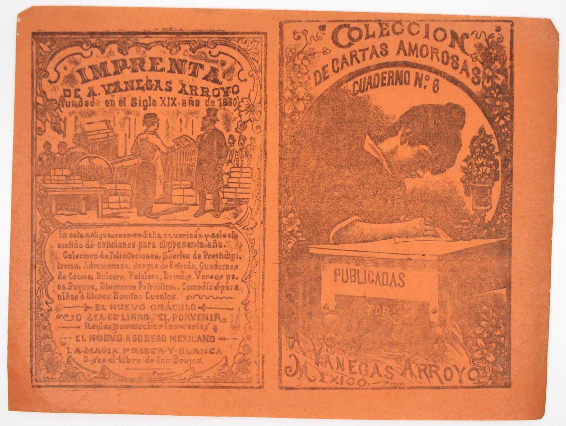 Colección de Cartas Amorosas Cuaderno 6 (2nd Impression) by José Guadalupe Posada (1852 - 1913)