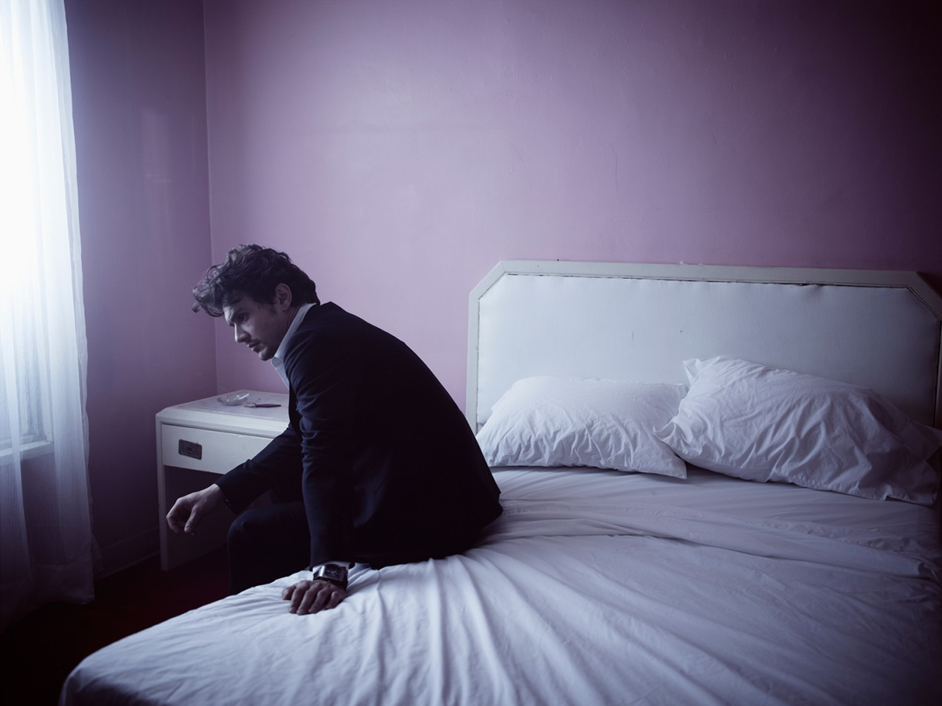 11031 James Franco Bed Color by Timothy White