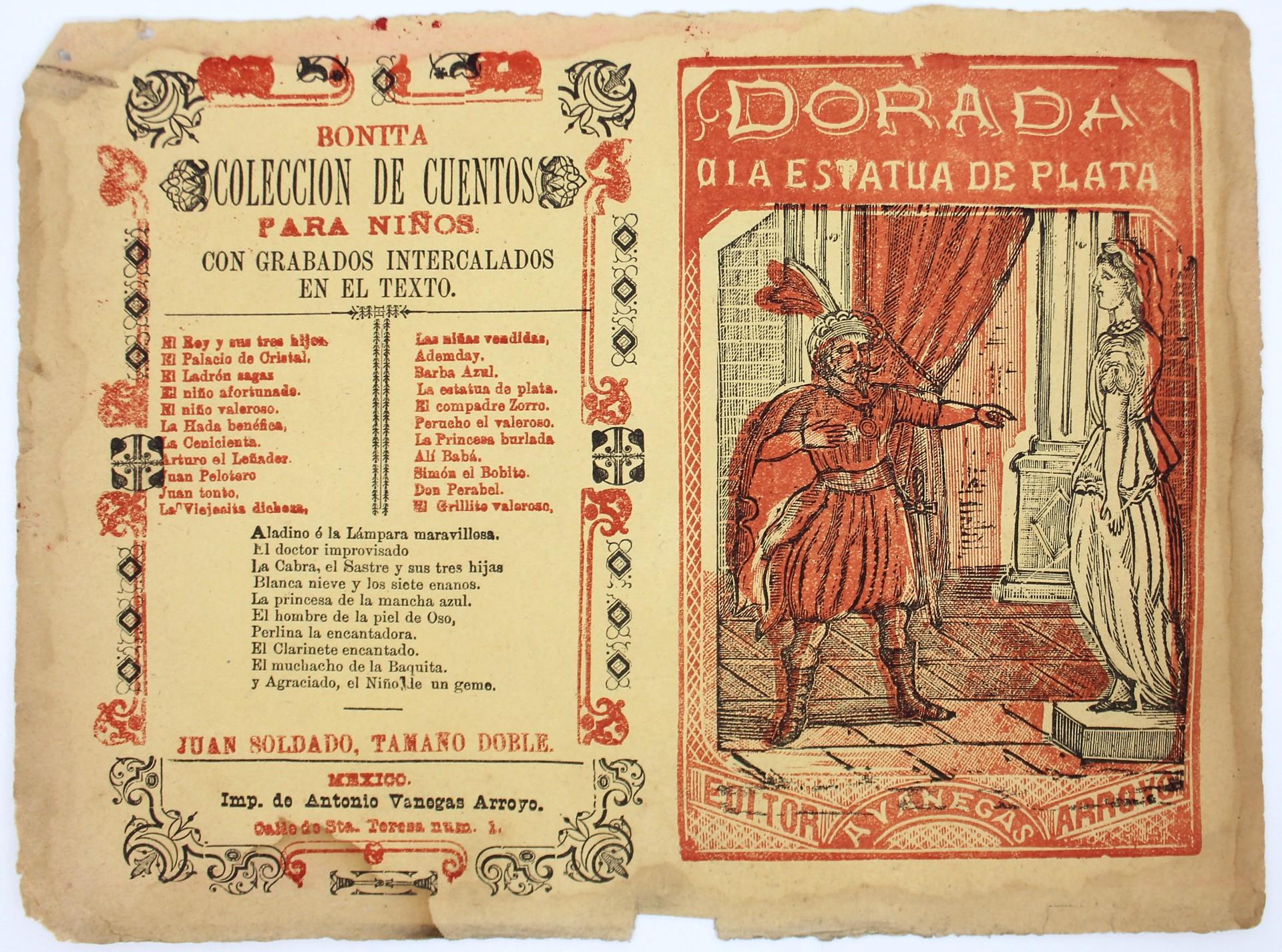 Dorada a la Estatua de Plata by José Guadalupe Posada (1852 - 1913)