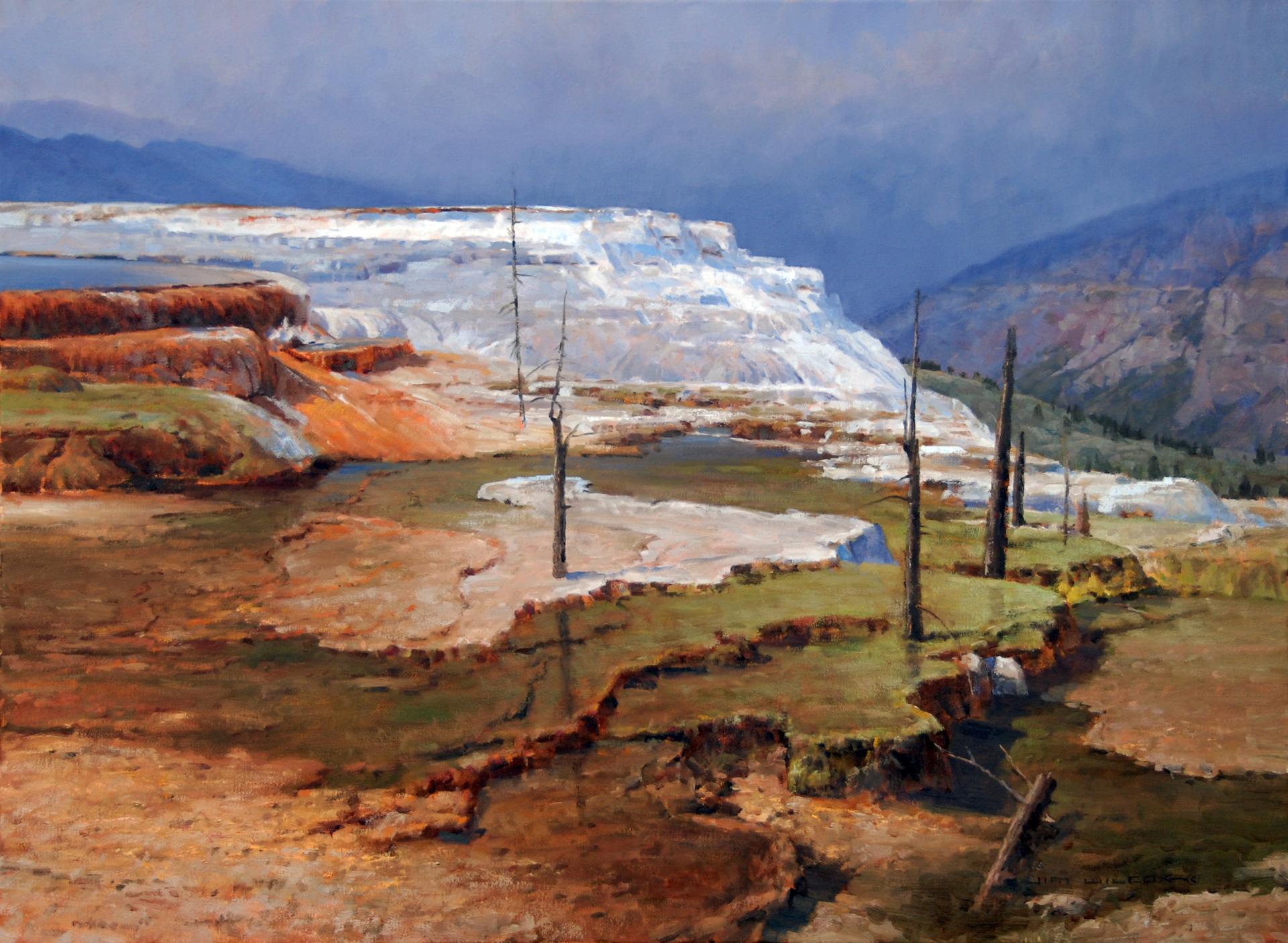 Travertine Terrace by Jim Wilcox