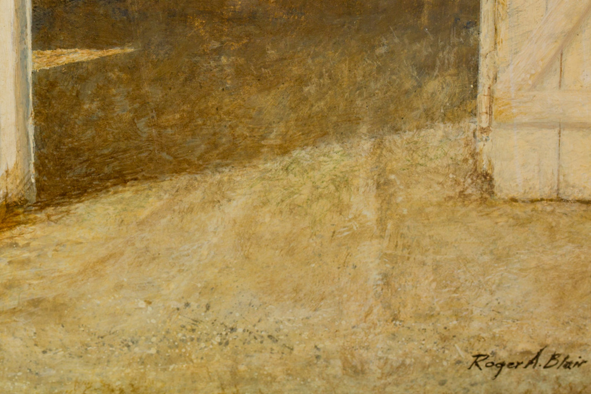 Windowside by Roger Blair