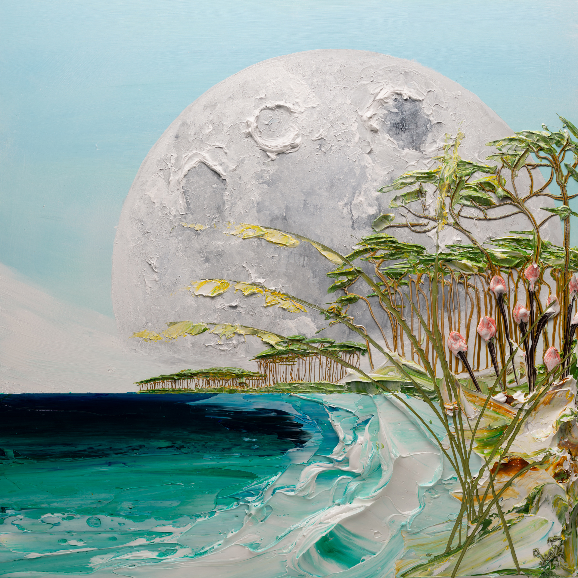 MOONSCAPE MS-48X48-2019-273 by JUSTIN GAFFREY