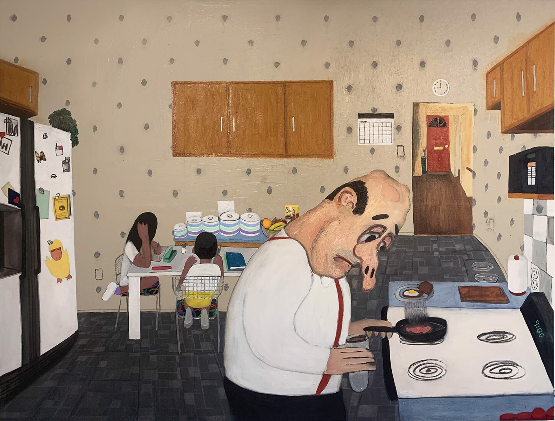 Aaron Maier-Carretero - breakfast by Visiting Artist