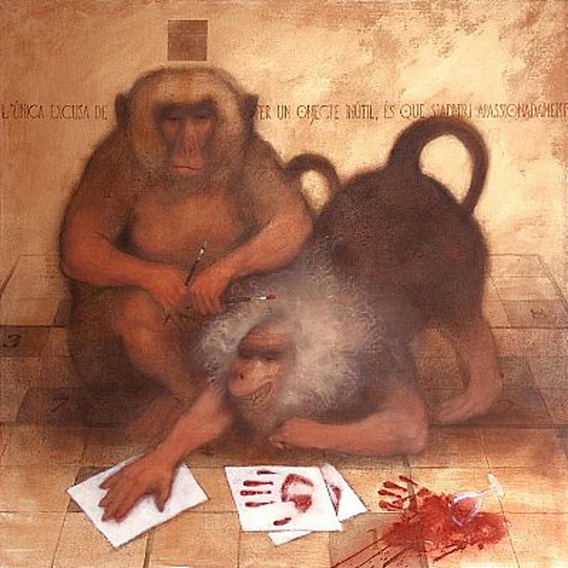 The Discovery of Paint - El Descobrimiento de la Pintura by Carlos Gomila