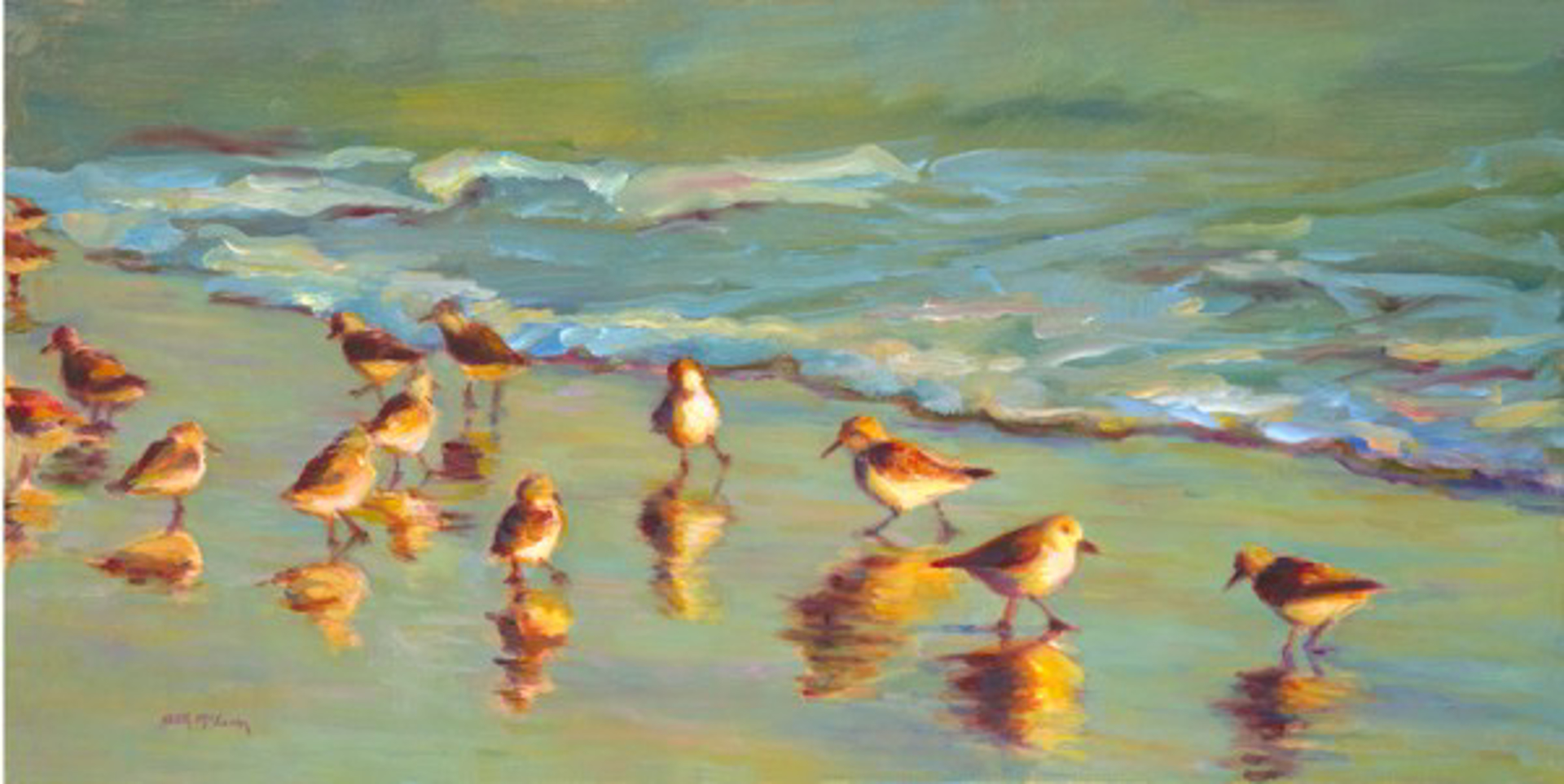 Sandpipers by Beth McLean -- Giclee Prints