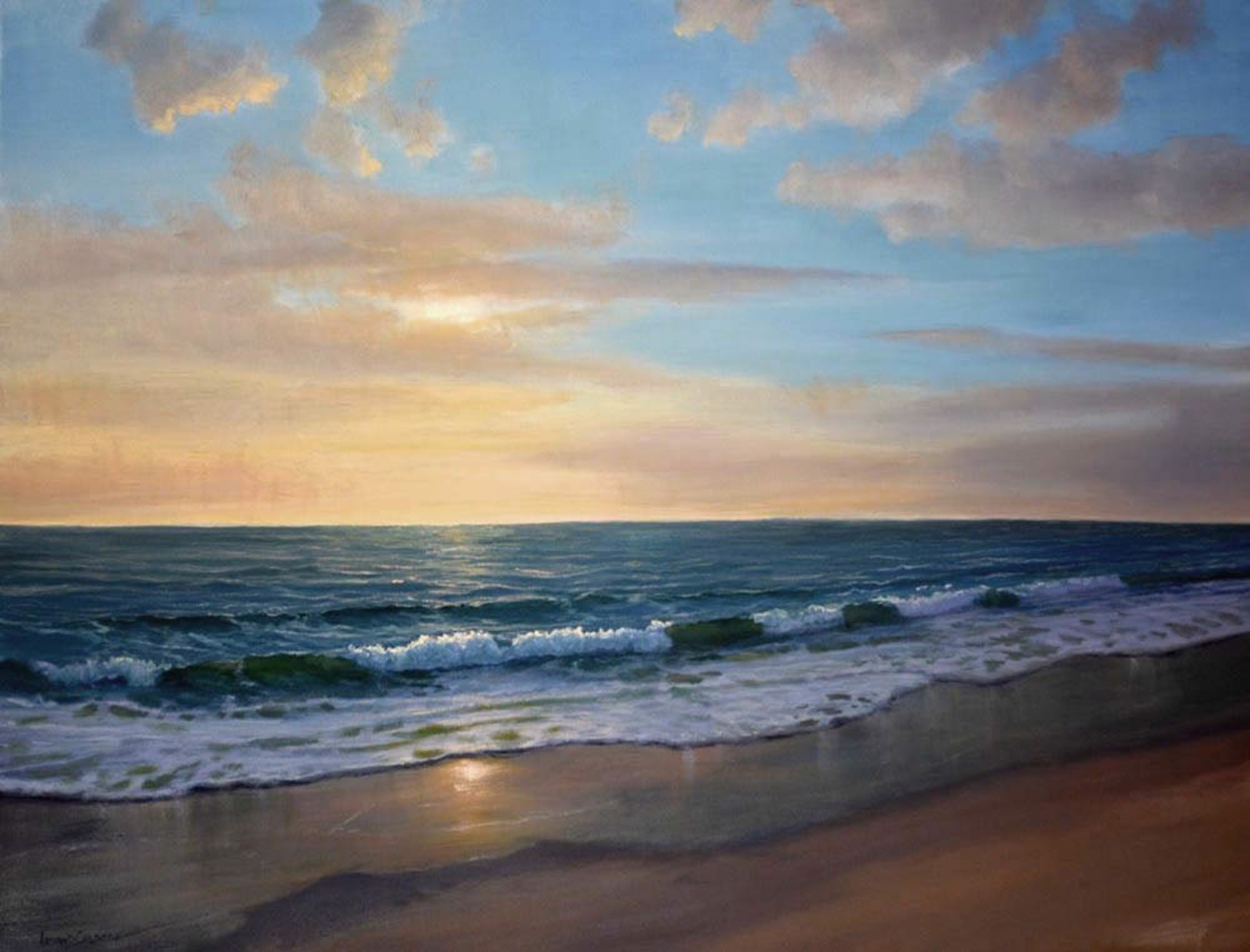 Morning Beach by ARMAND CABRERA