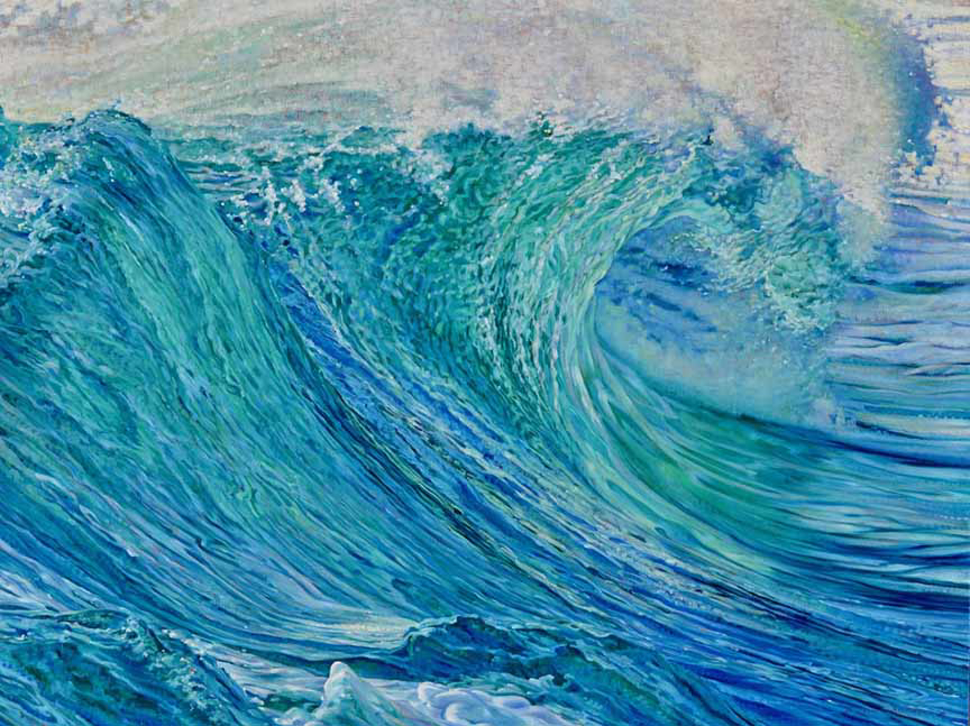 The Secret Life Of Waves by Caroline Zimmermann