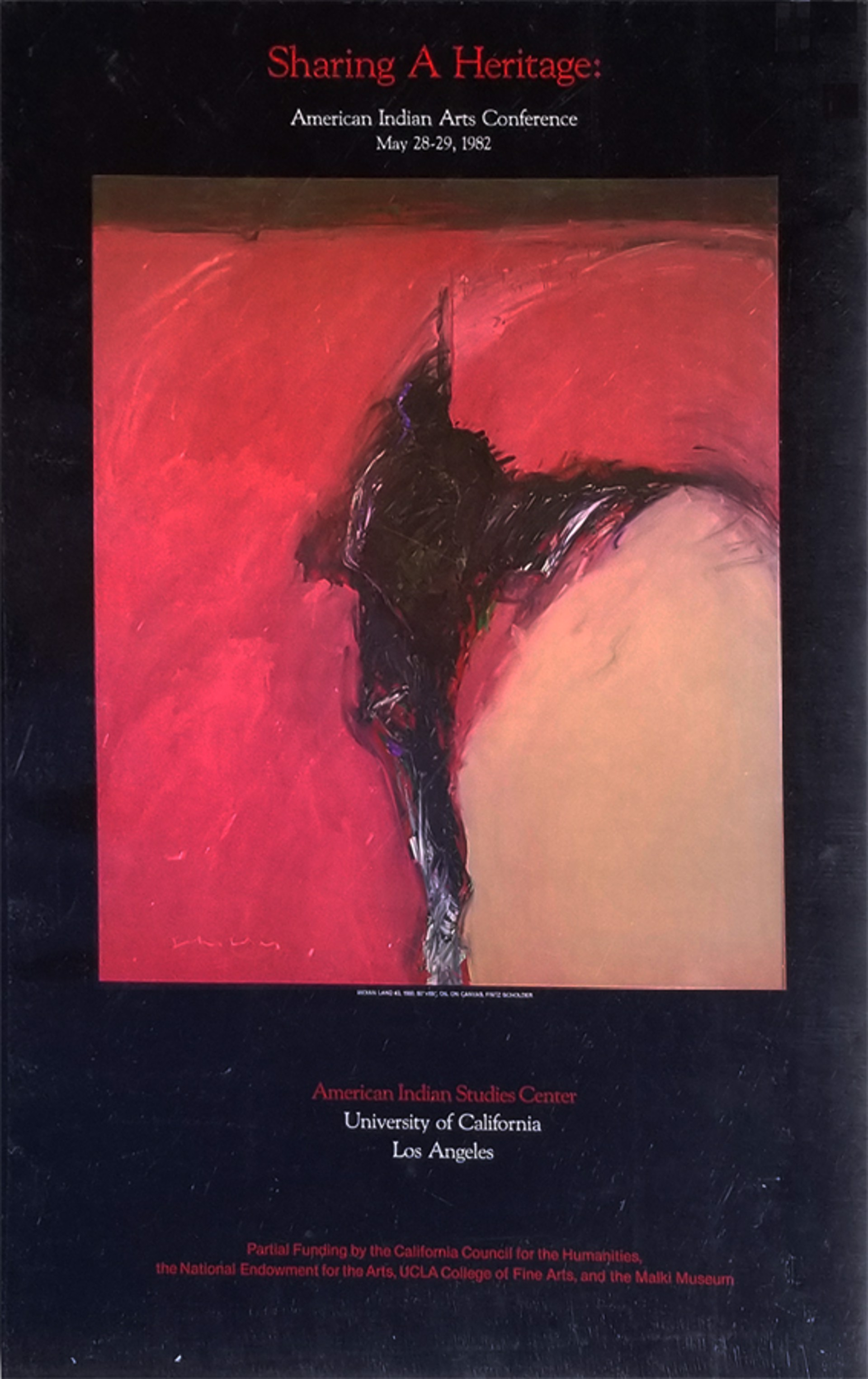 Sharing a Heritage Poster by Fritz Scholder