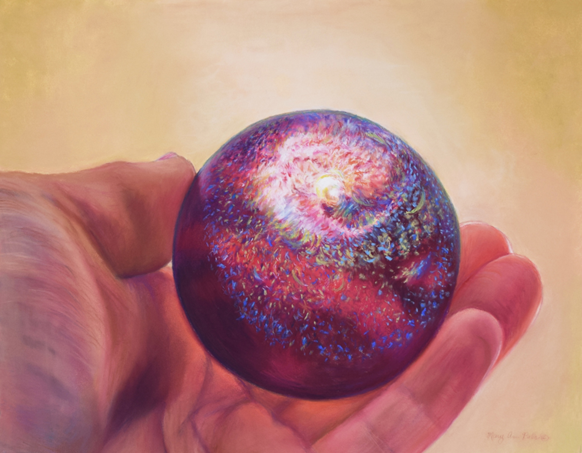Pomegranate Galaxy by Mary Ann Pals
