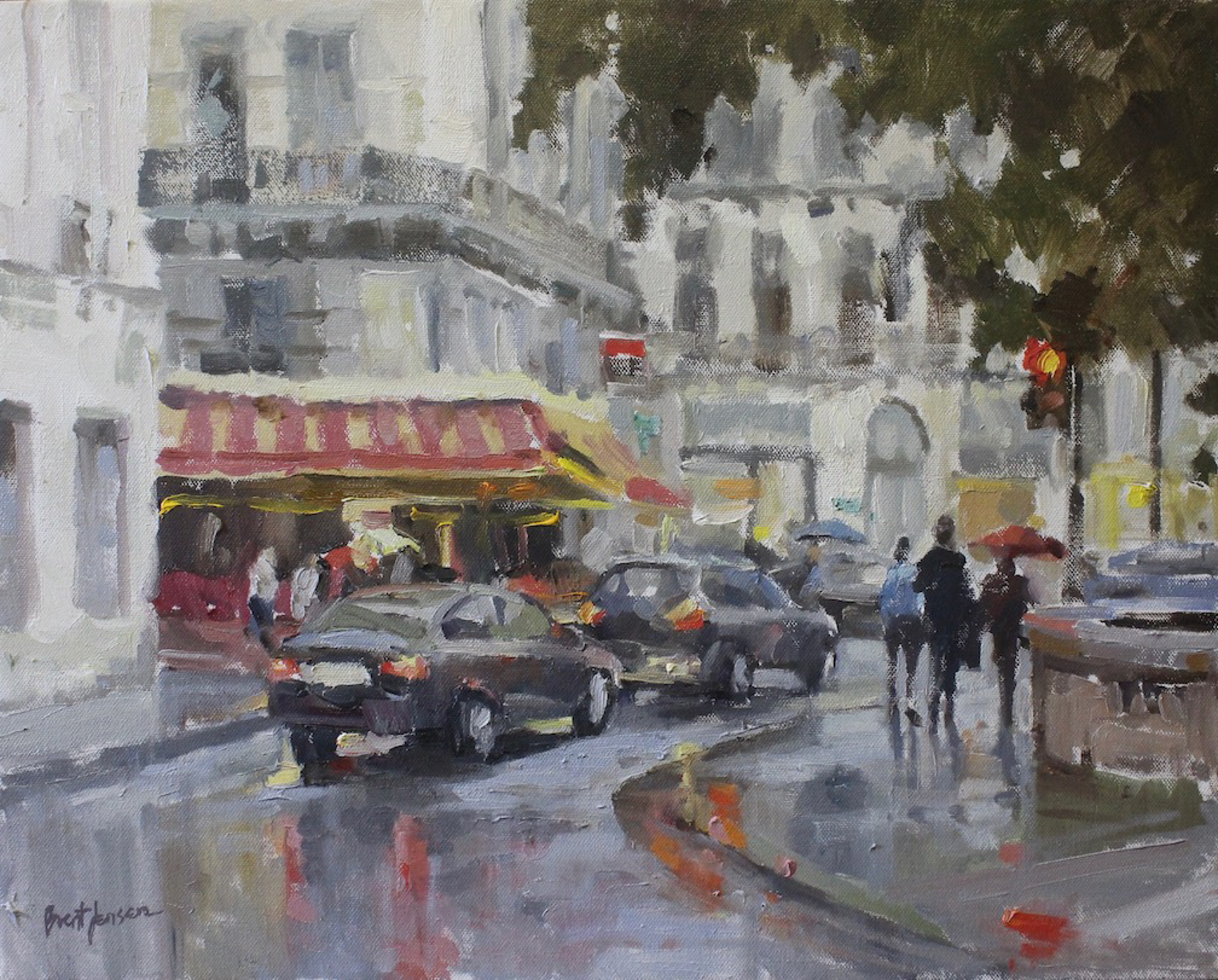 Rainy Day in Paris by Brent Jensen