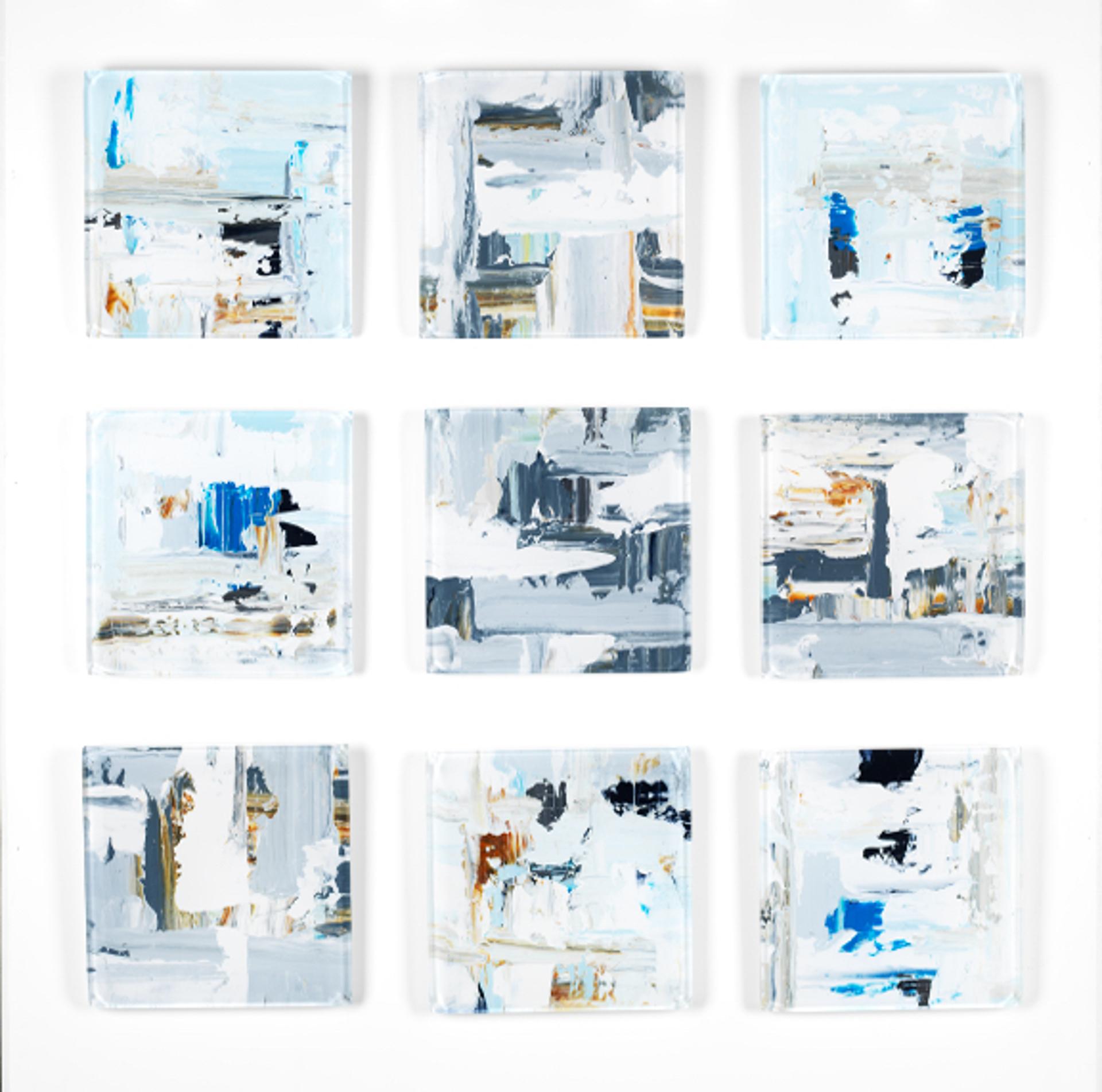 Vetro 0618-02 (9 Panel Set) by John Schuyler