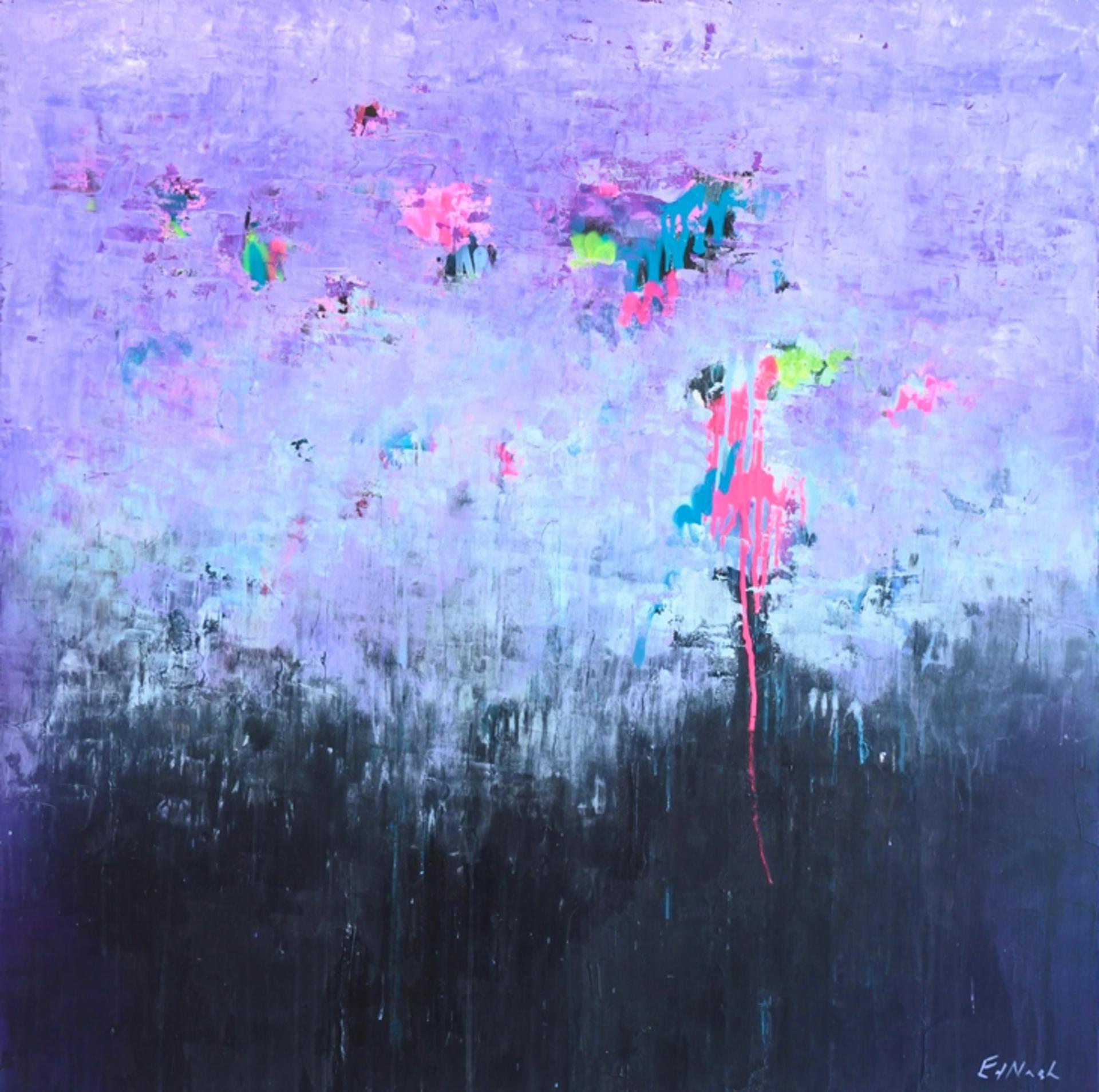 Violet Hue II by Ed Nash