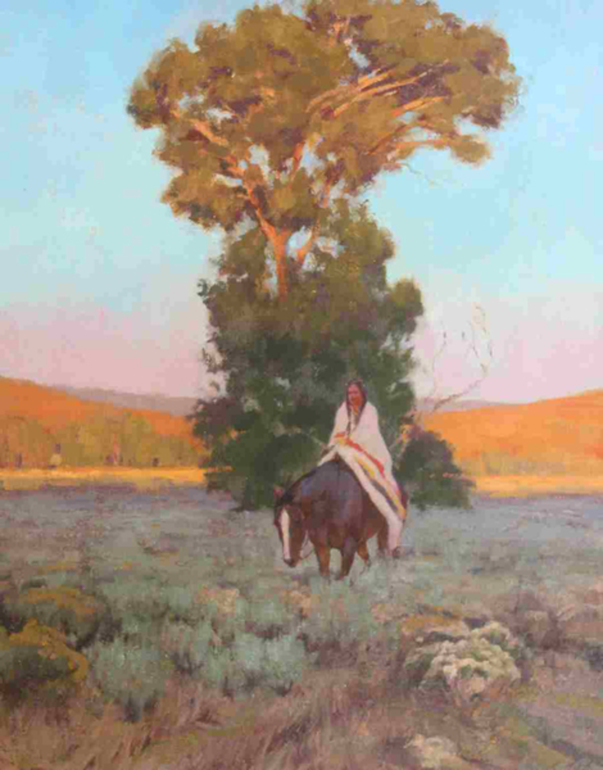 Under the Cottonwoods by Charles Dayton