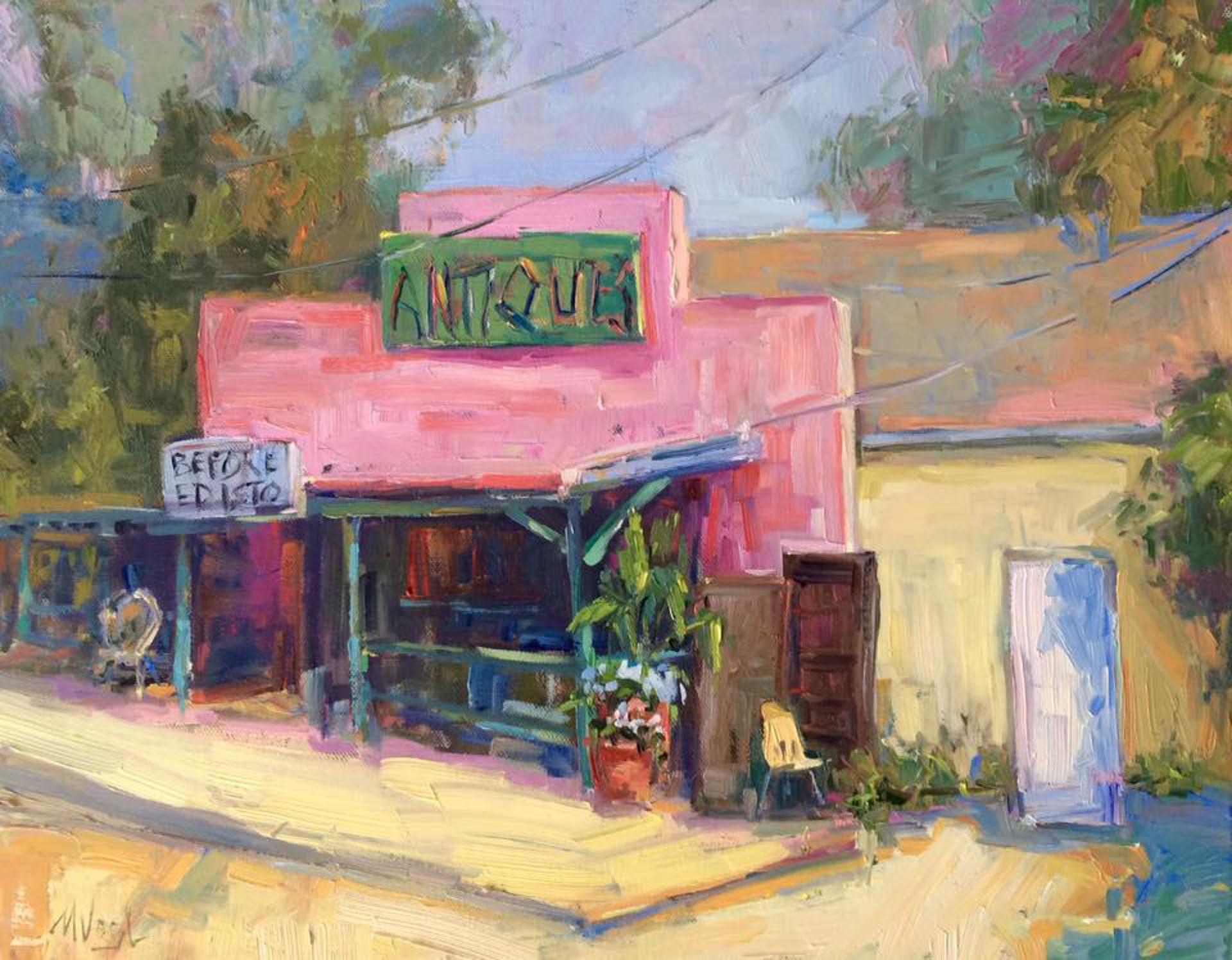 Antique Shop by Marissa Vogl
