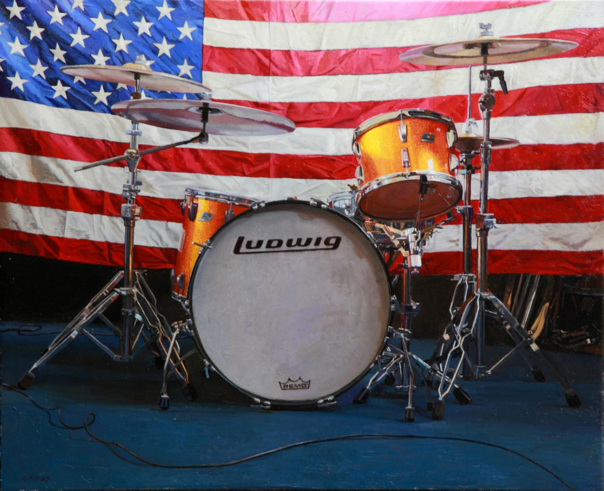 Brett's Drums by Greg Gandy