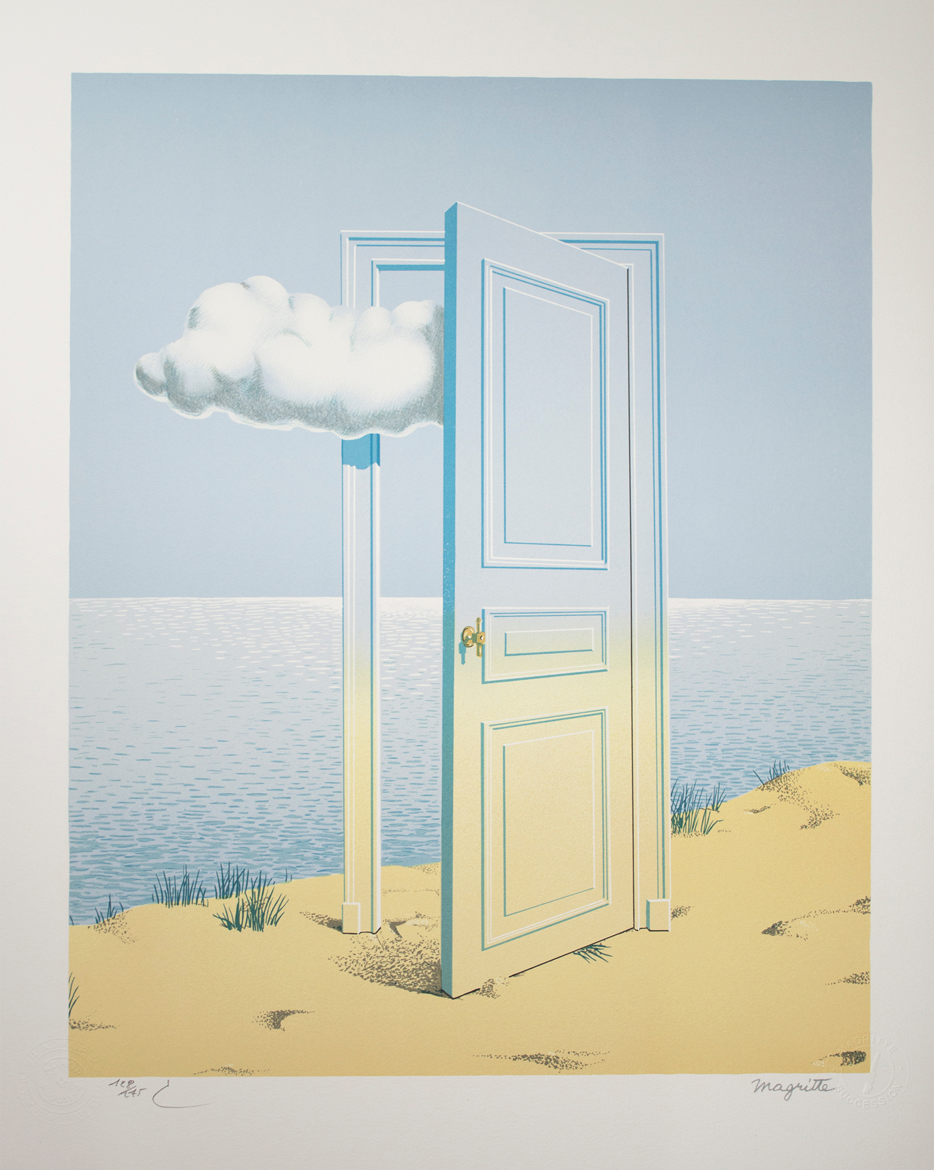 La Victoire (Victory) by Rene Magritte