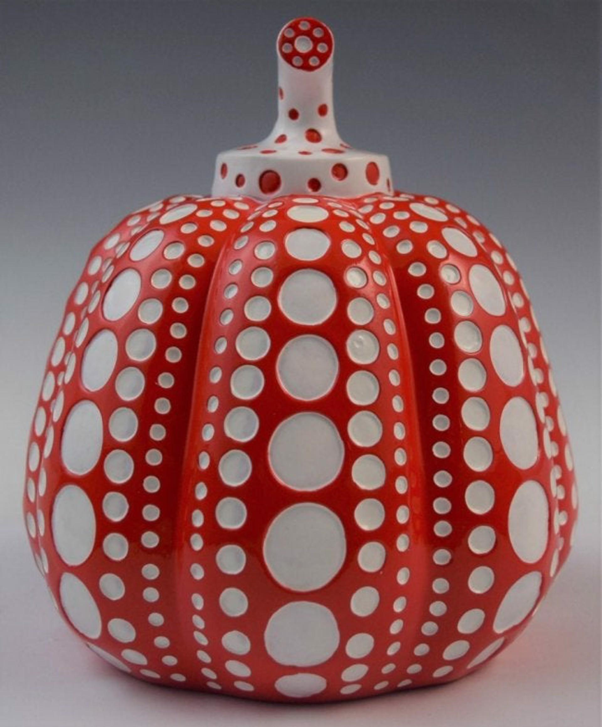 PUMPKIN- RED by Yayoi Kusama