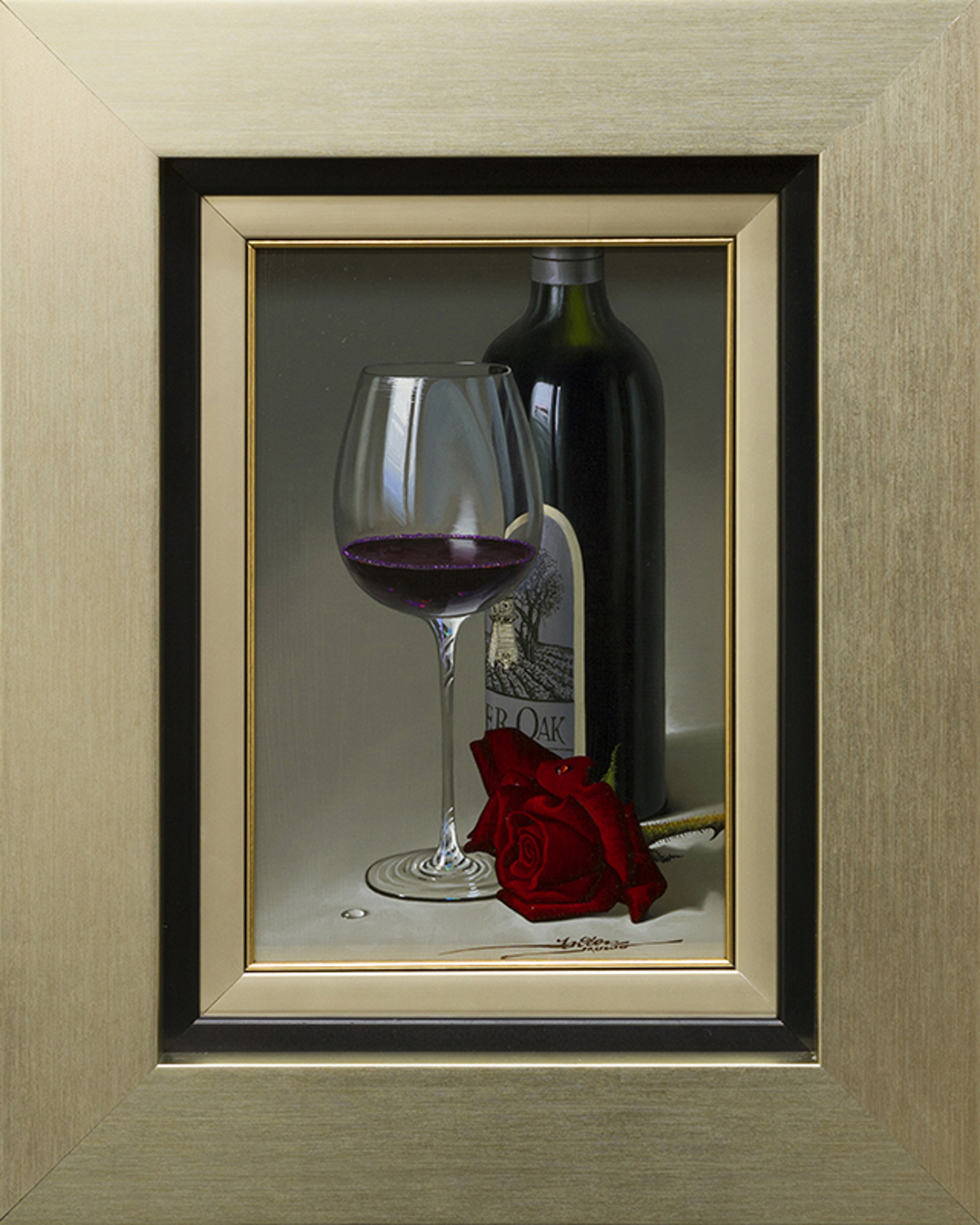 A Toast to Love by Javier Mulio