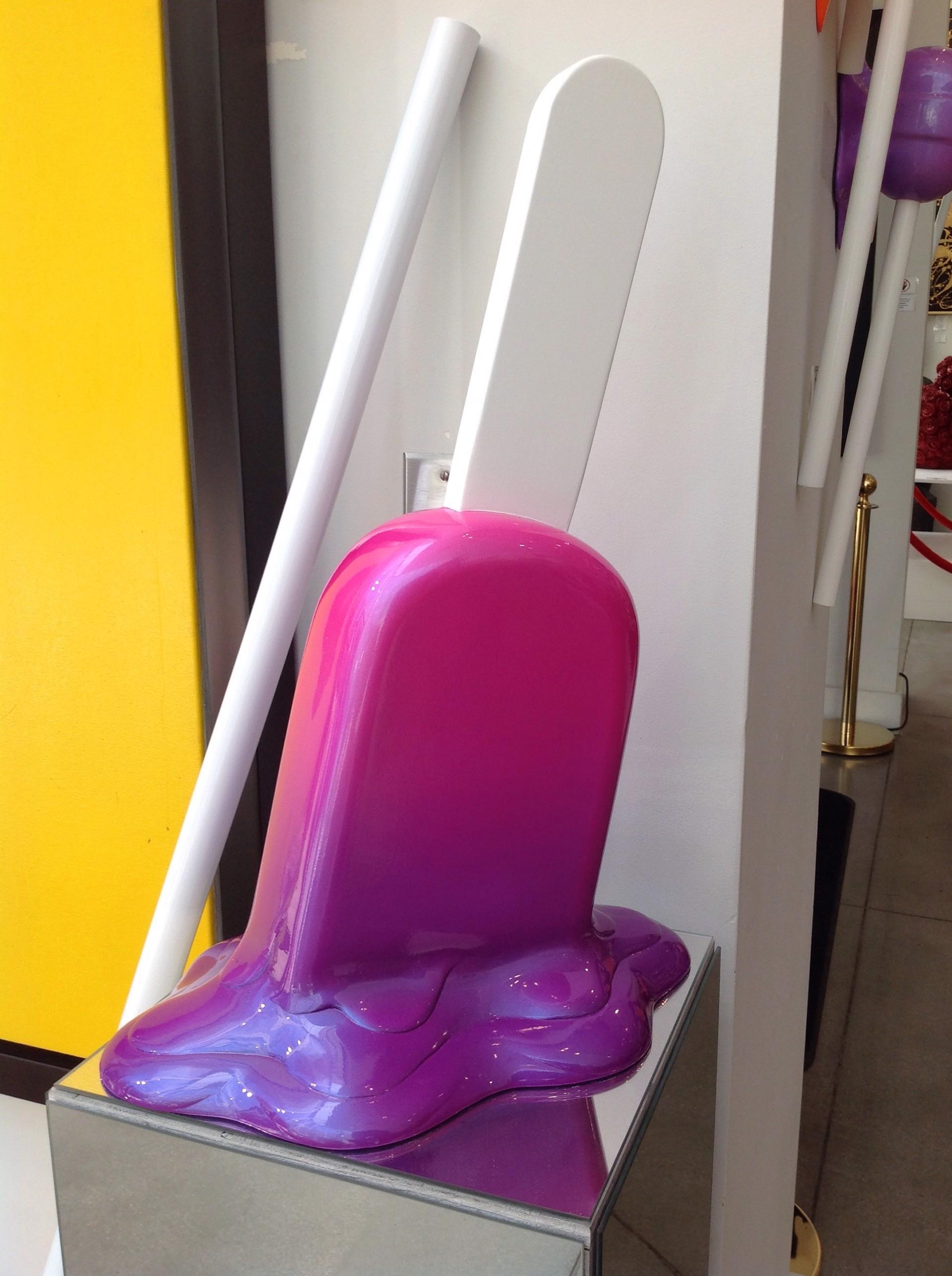Fuschia/Purple Med. Ombré Popsicle by Elena Bulatova