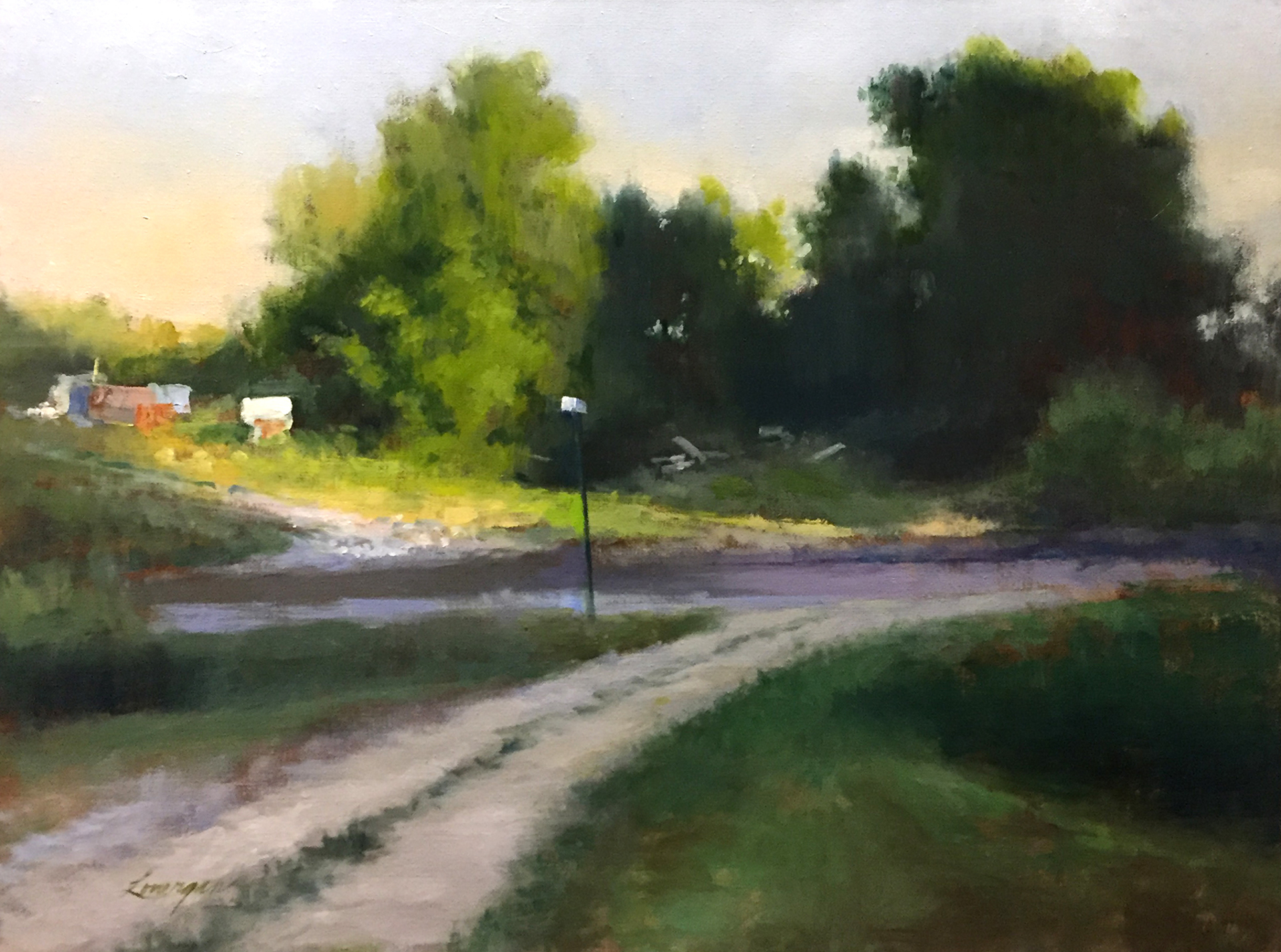 Late Afternoon by John Lonergan