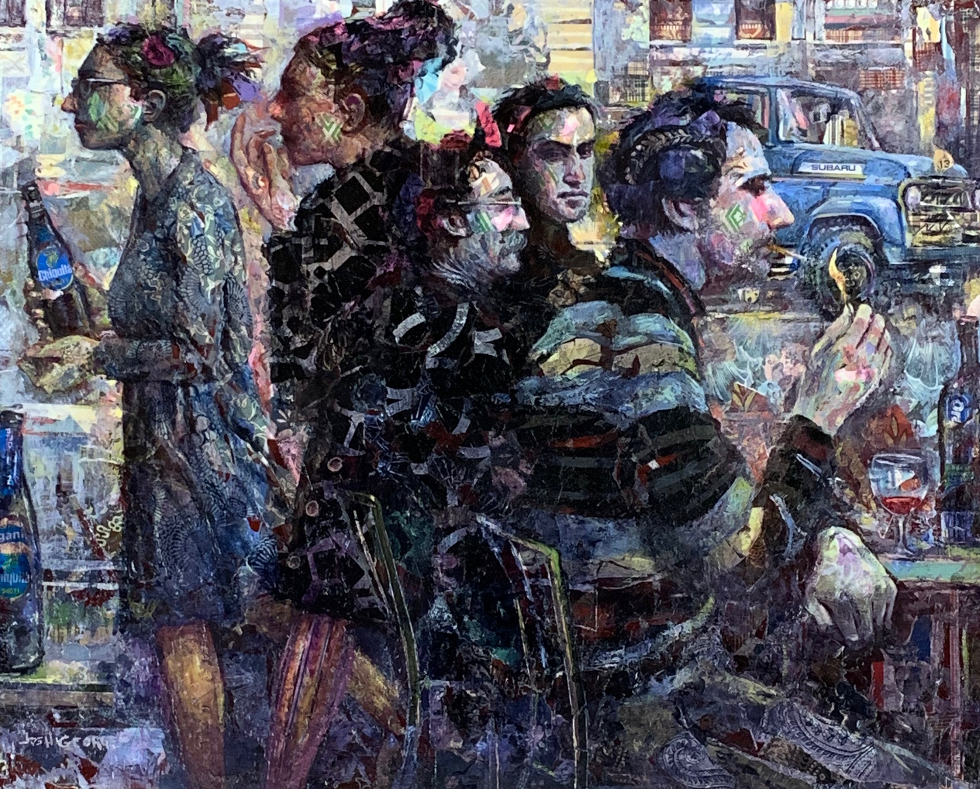 tradition, progress, stagnation by Josh George