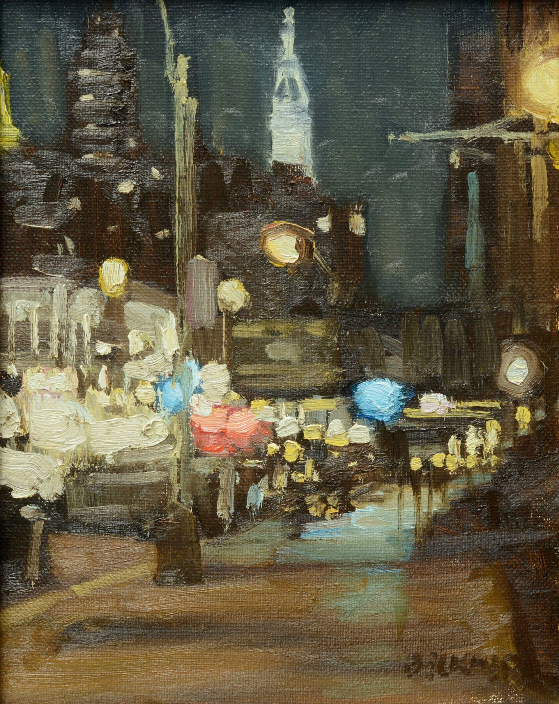 Street Lights by Jim Beckner
