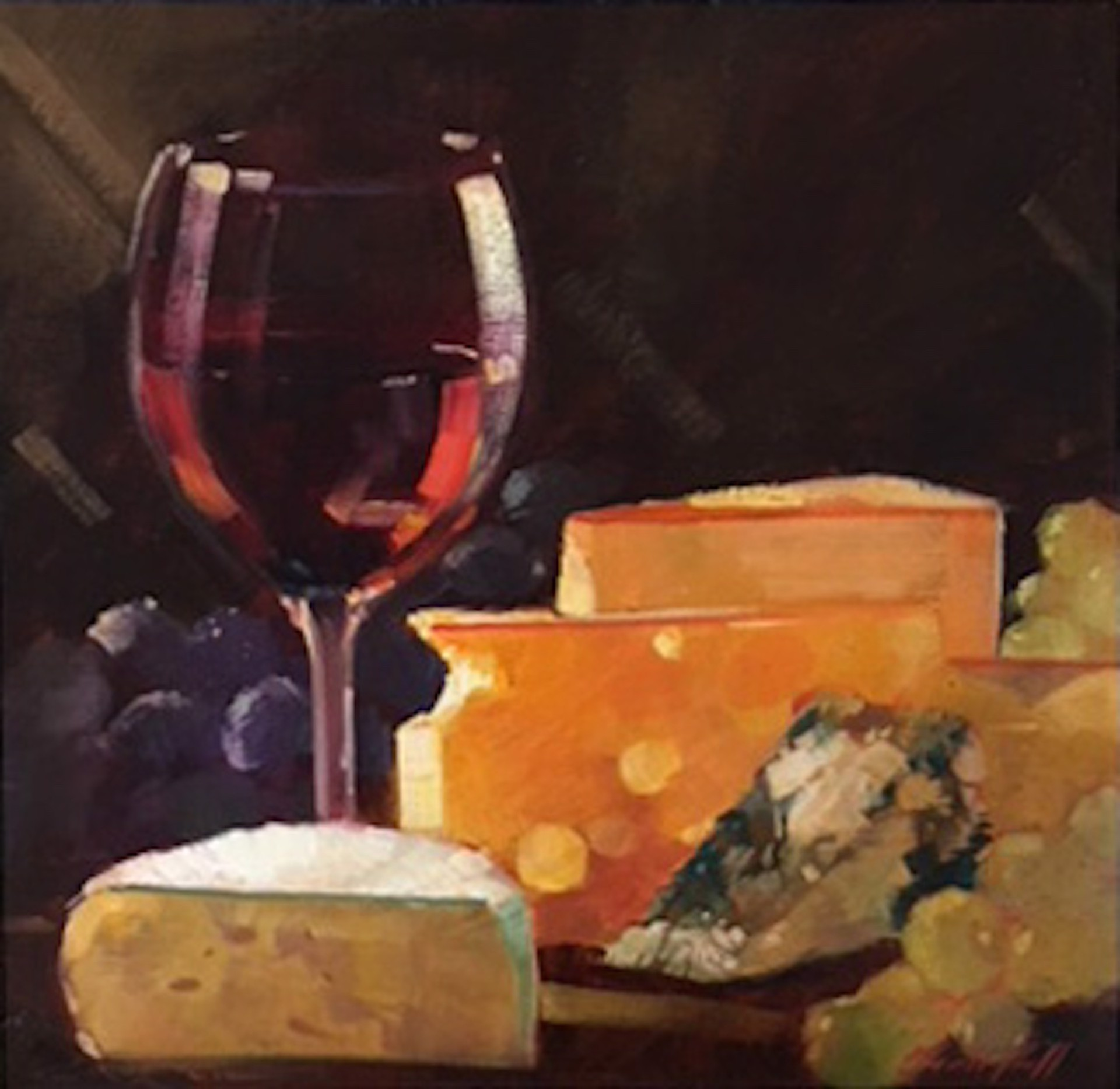 Fromage  by Darrell Hill