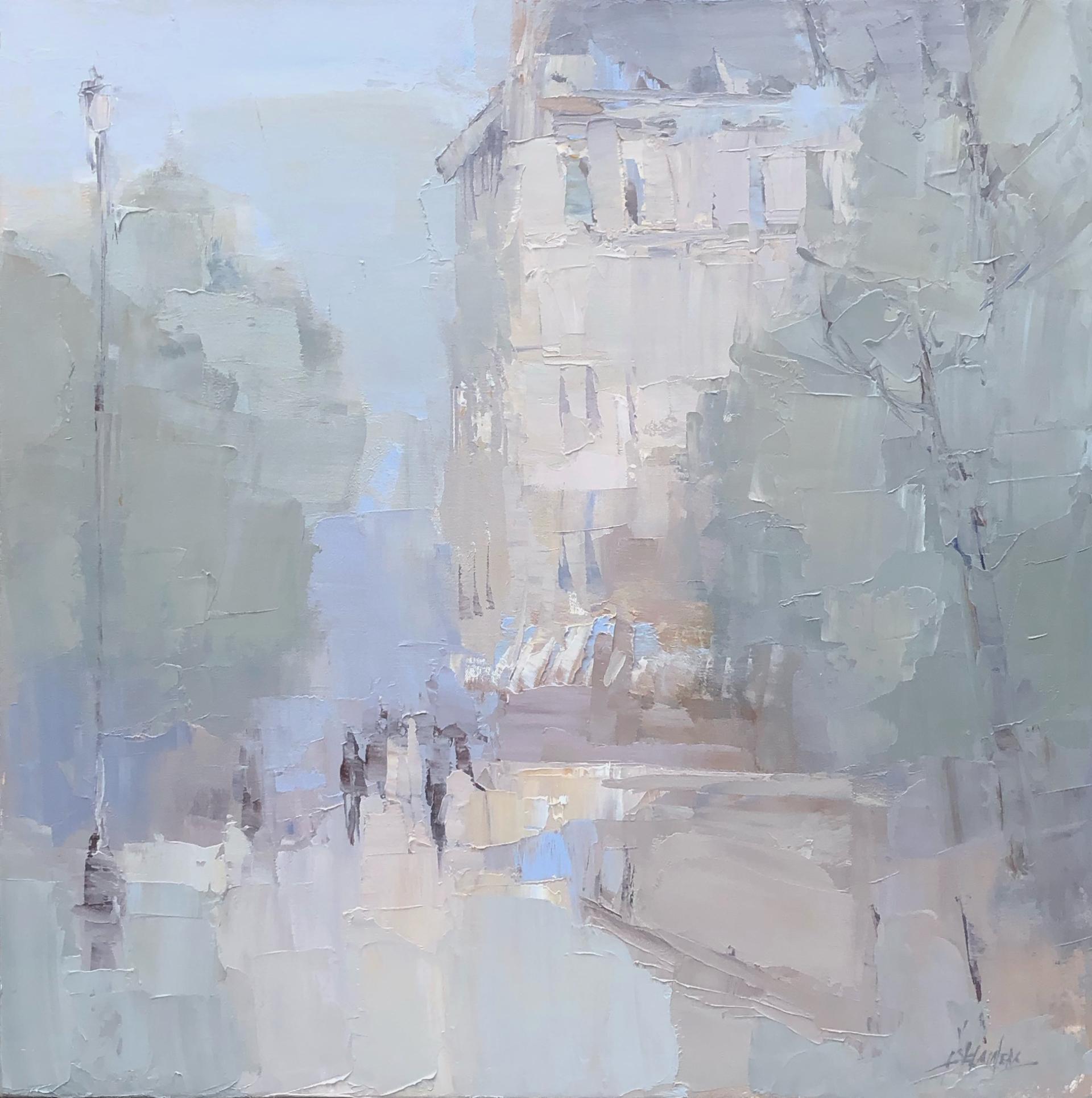 Hazy Summer Day, Paris by Barbara Flowers