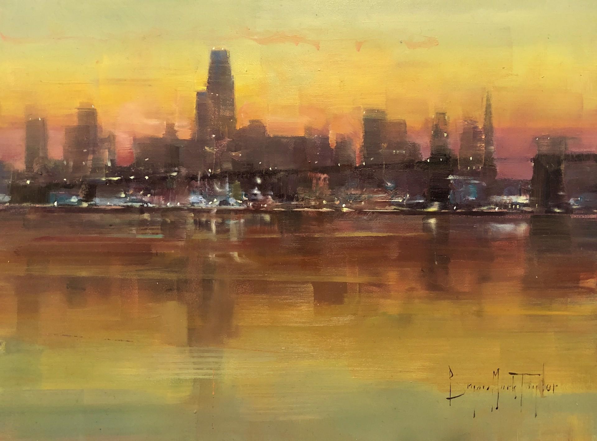 San Francisco Skyline by Bryan Mark Taylor