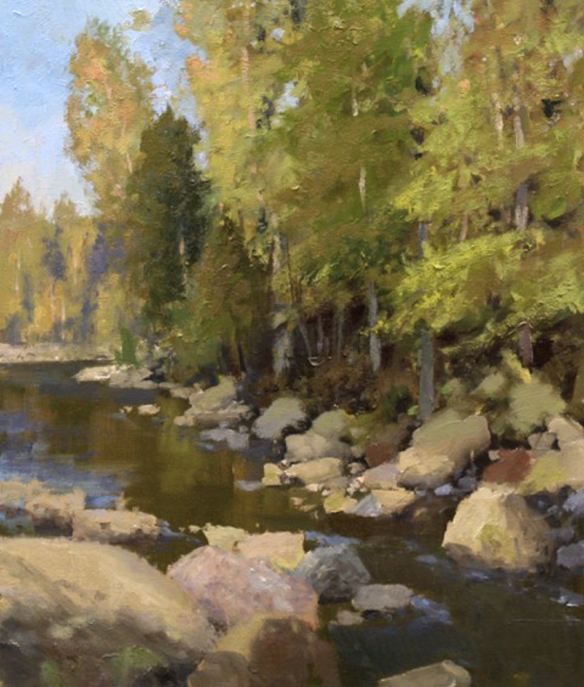 Valley River by Roger Dale Brown
