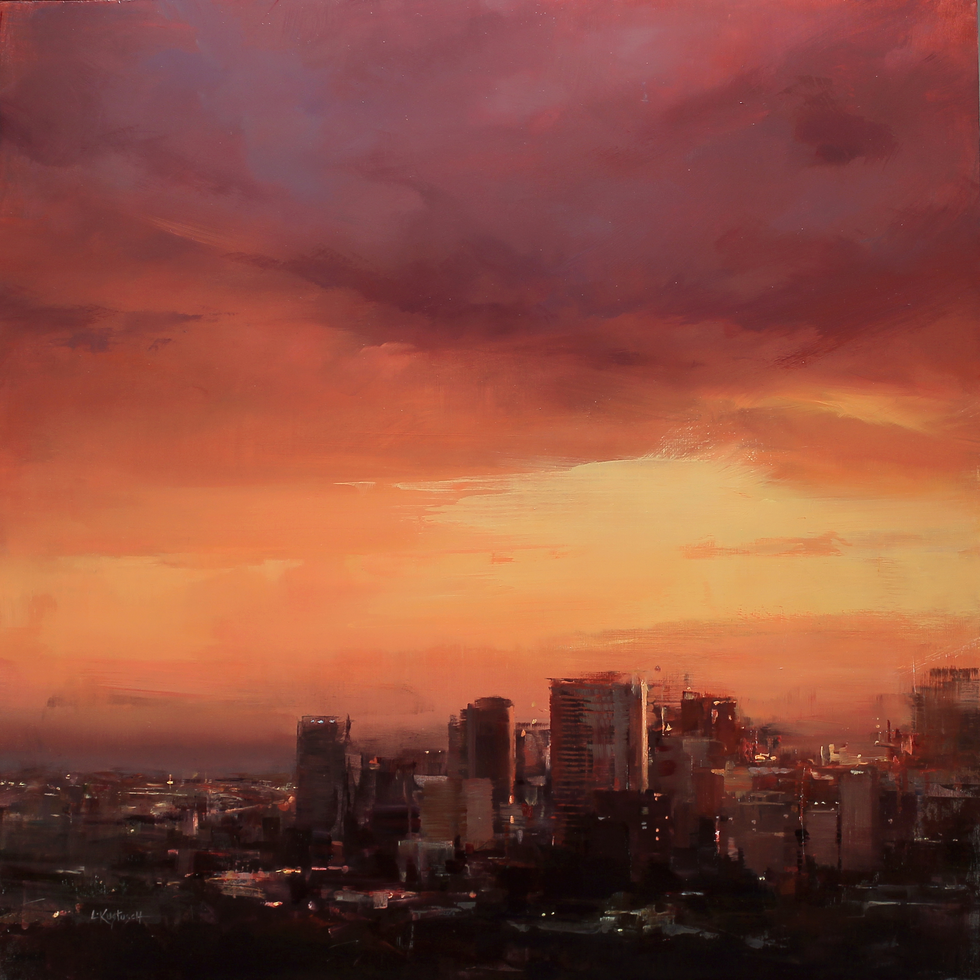 Beneath the Setting Sun by Lindsey Kustusch