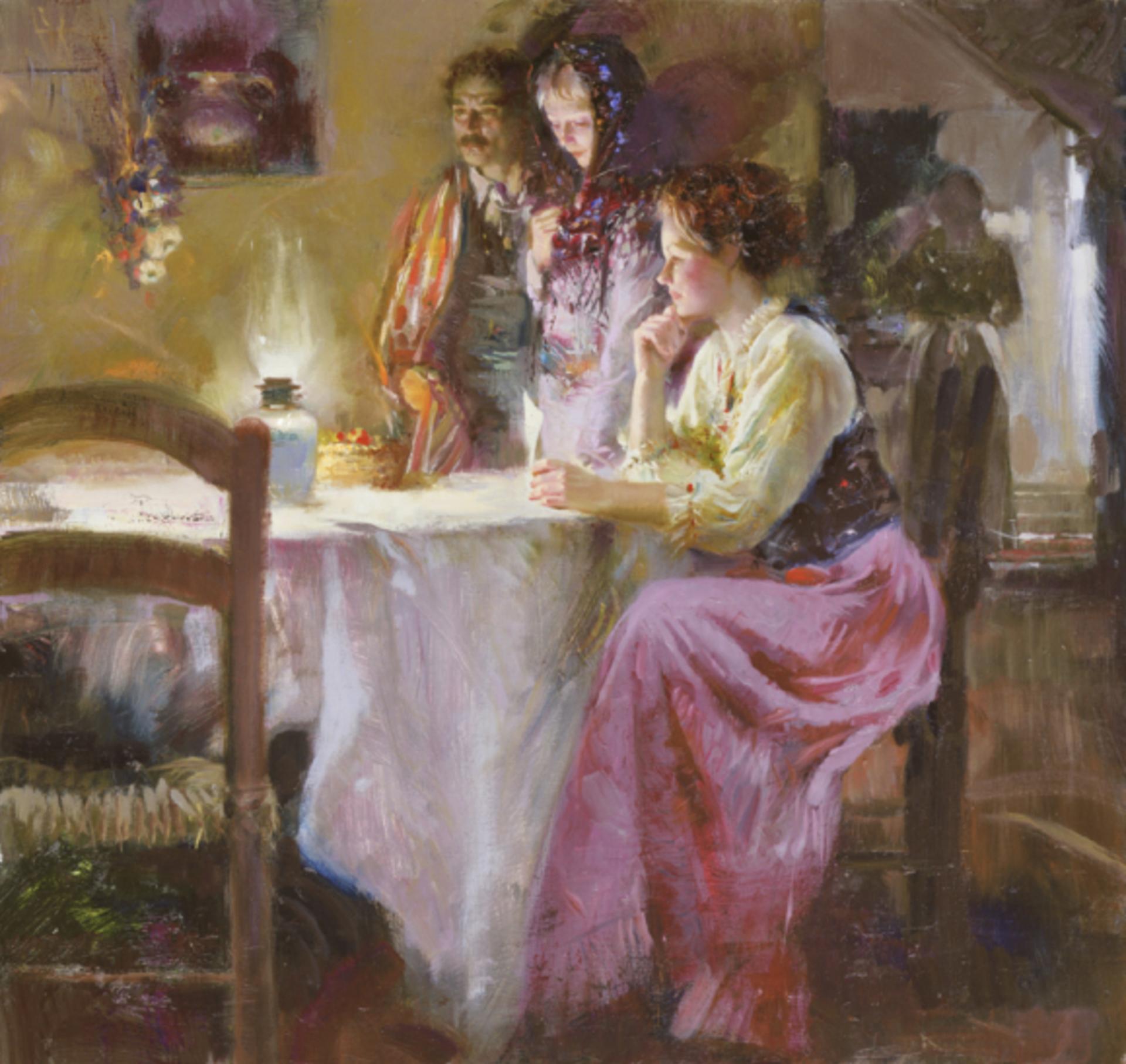 Mystical Light by Pino