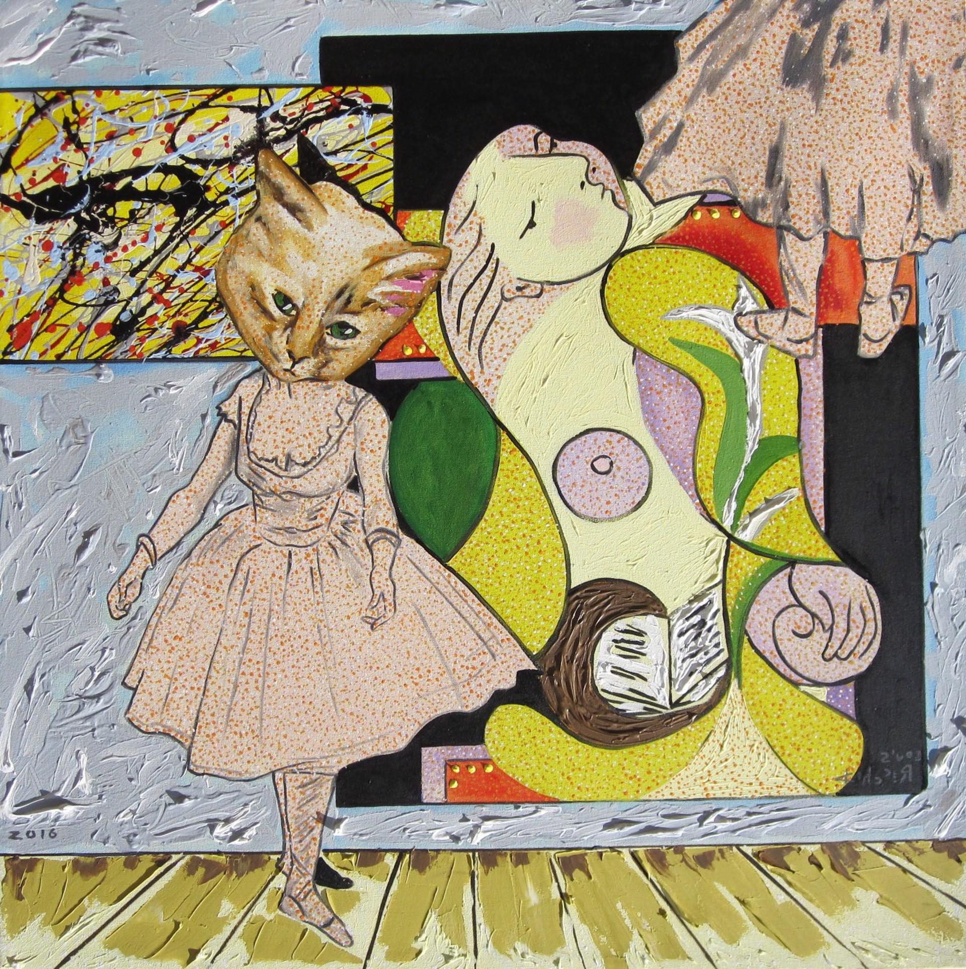 Cat Dancer by Louis Recchia
