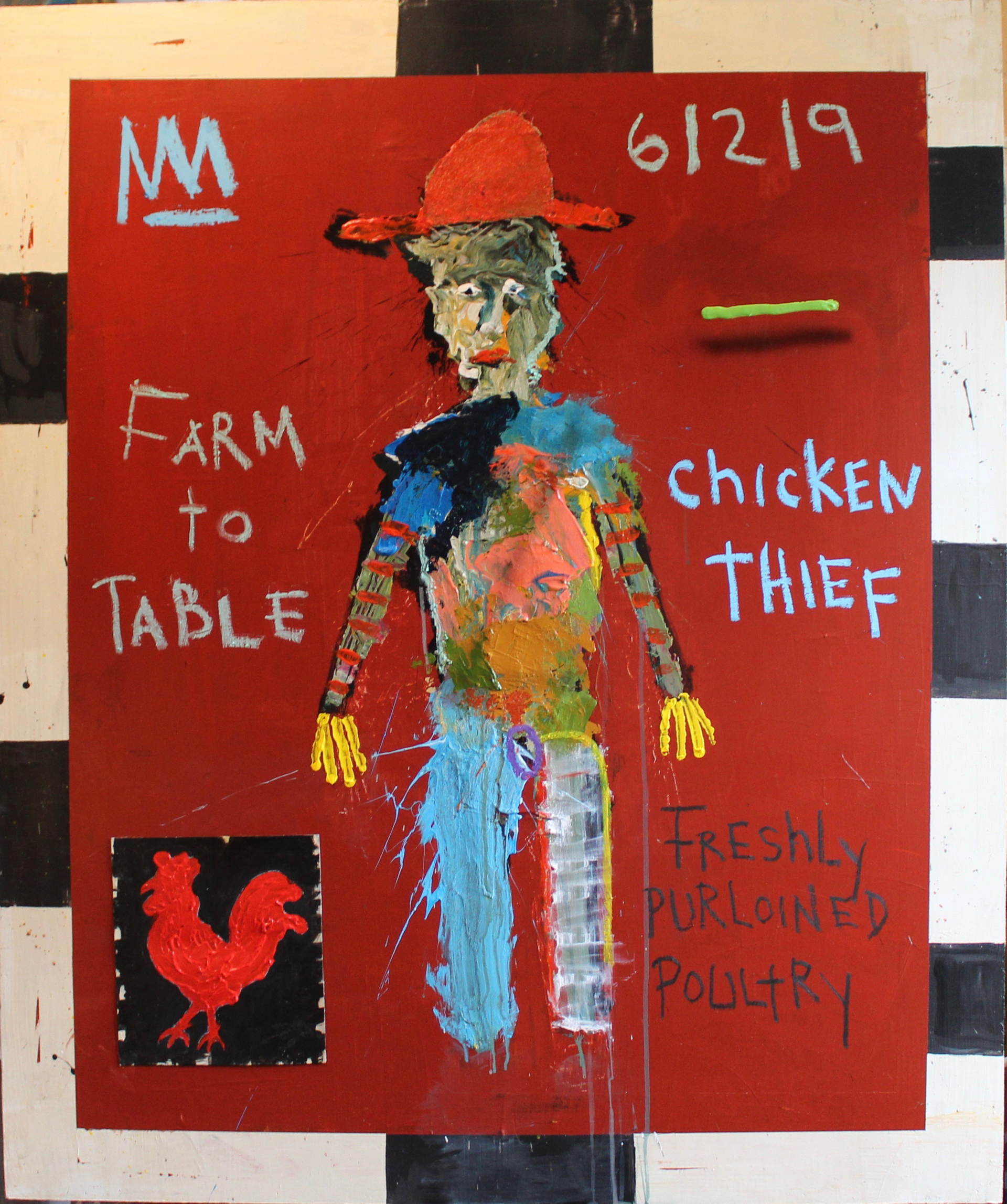 Farm to Table Chicken Thief by Michael Snodgrass