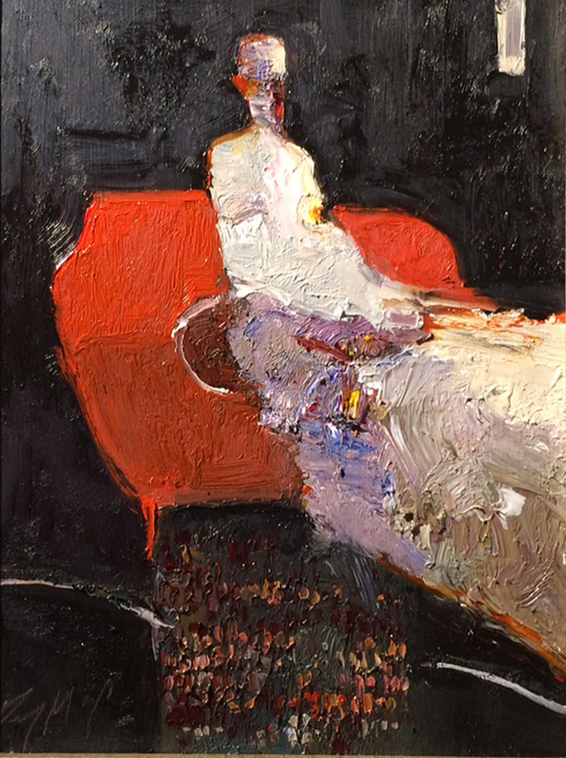 Red Chair by Danny McCaw