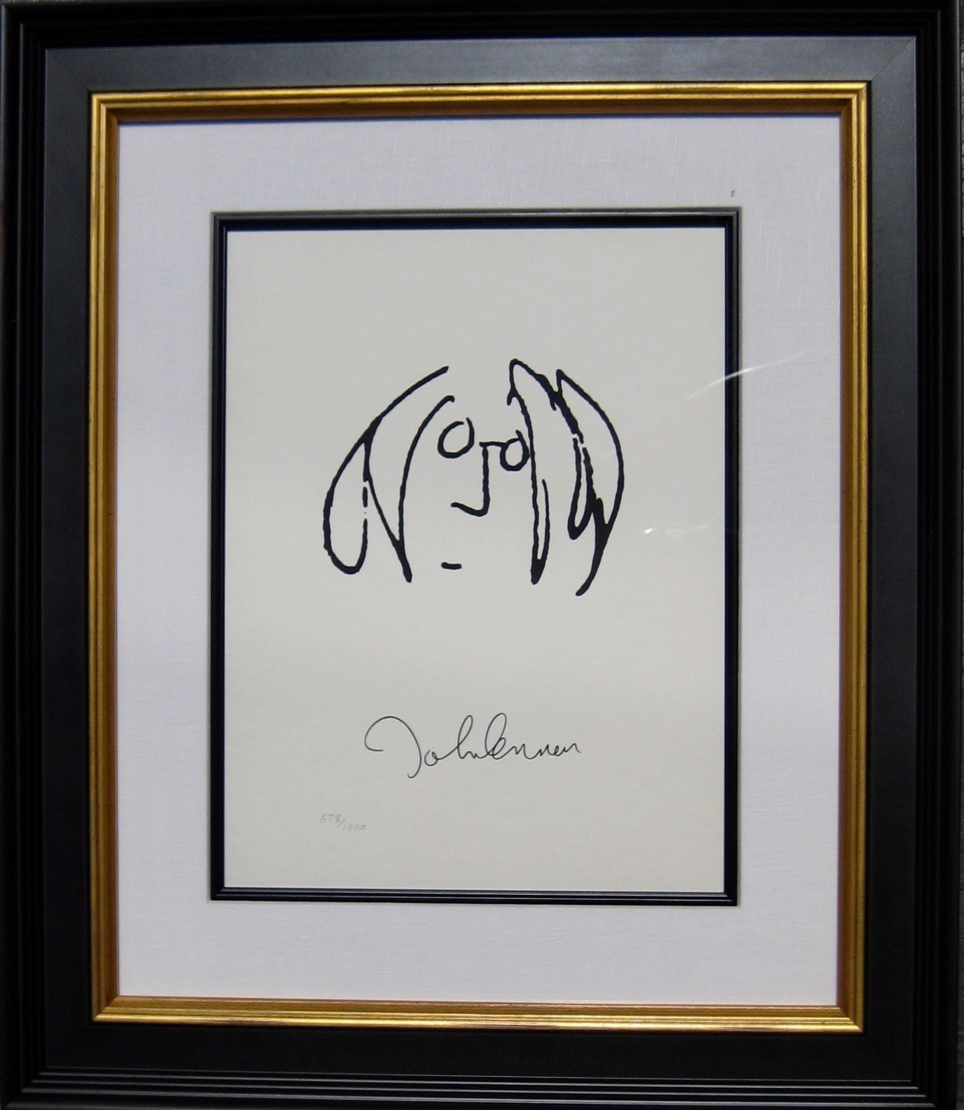 Lyric Self Portrait by John Lennon