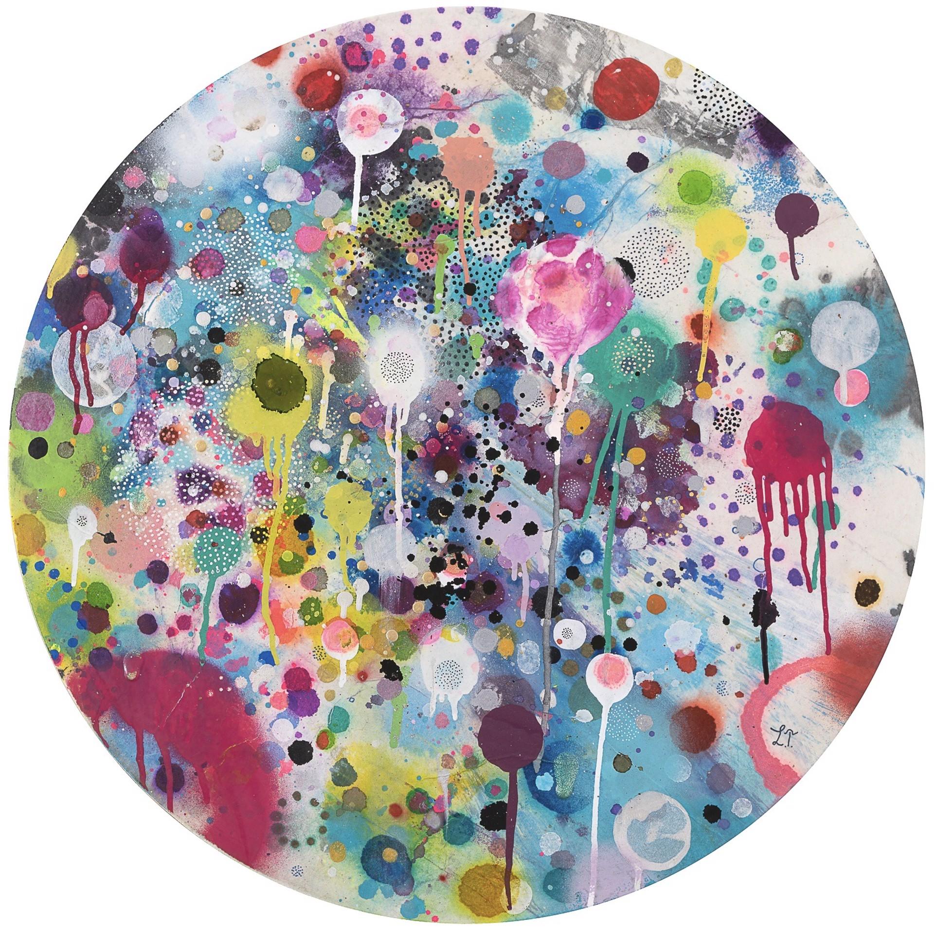 Cosmic Circle 4 by Liz Tran