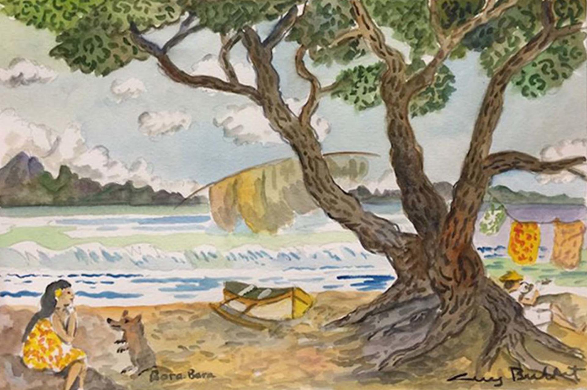 Bora Bora by Guy Buffet