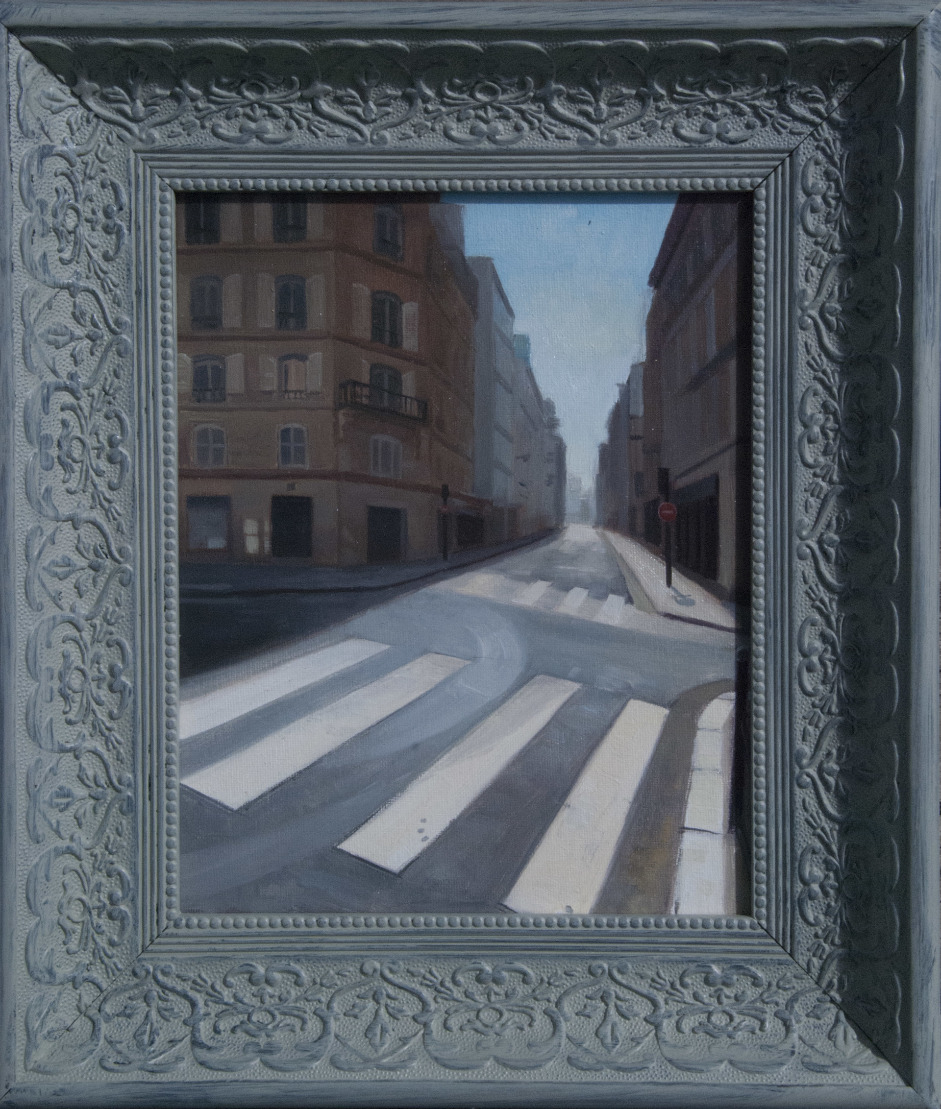 Paris Street 2 by Richard T Scott