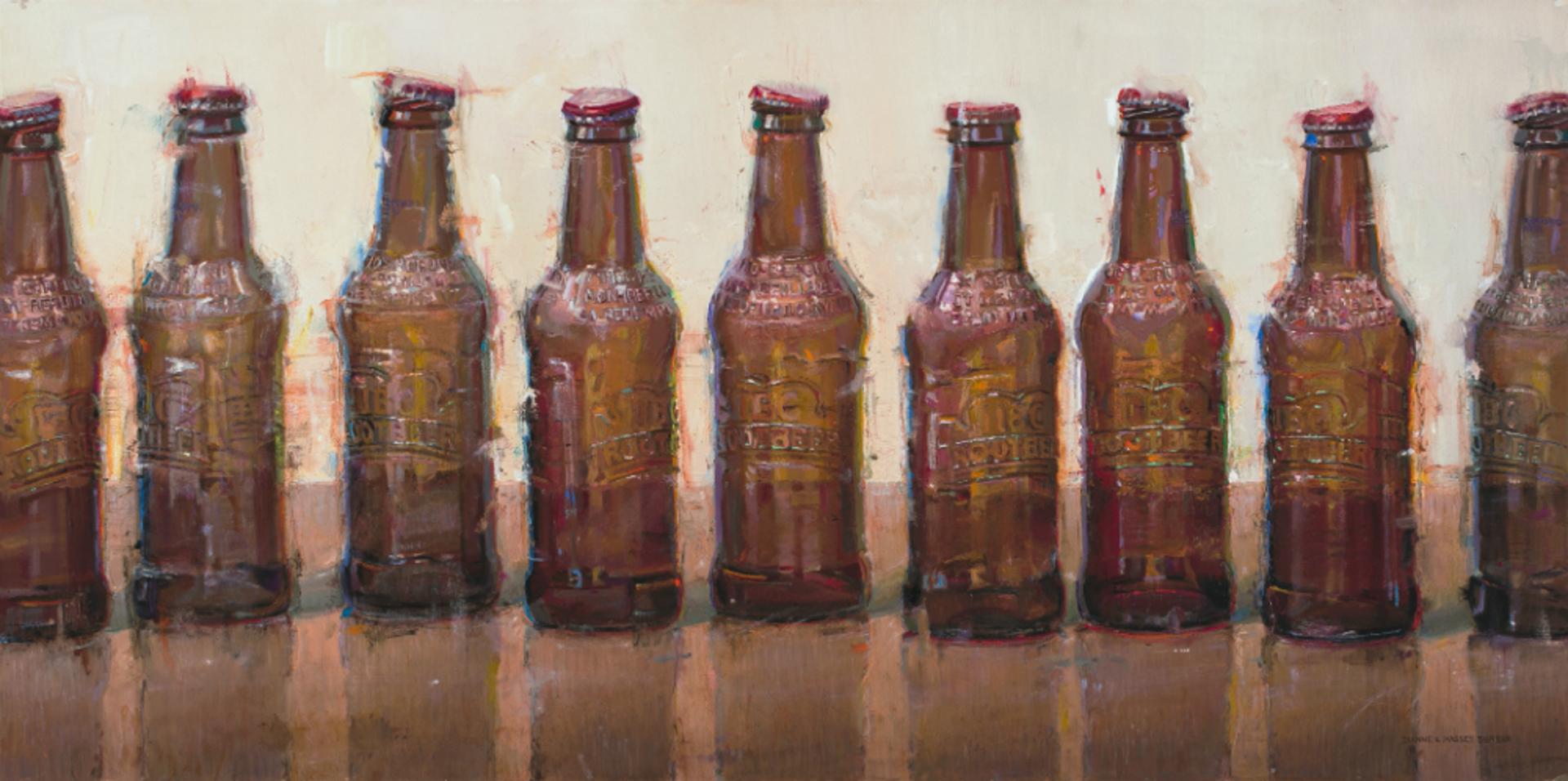 Nine Bottles by Dianne L Massey Dunbar