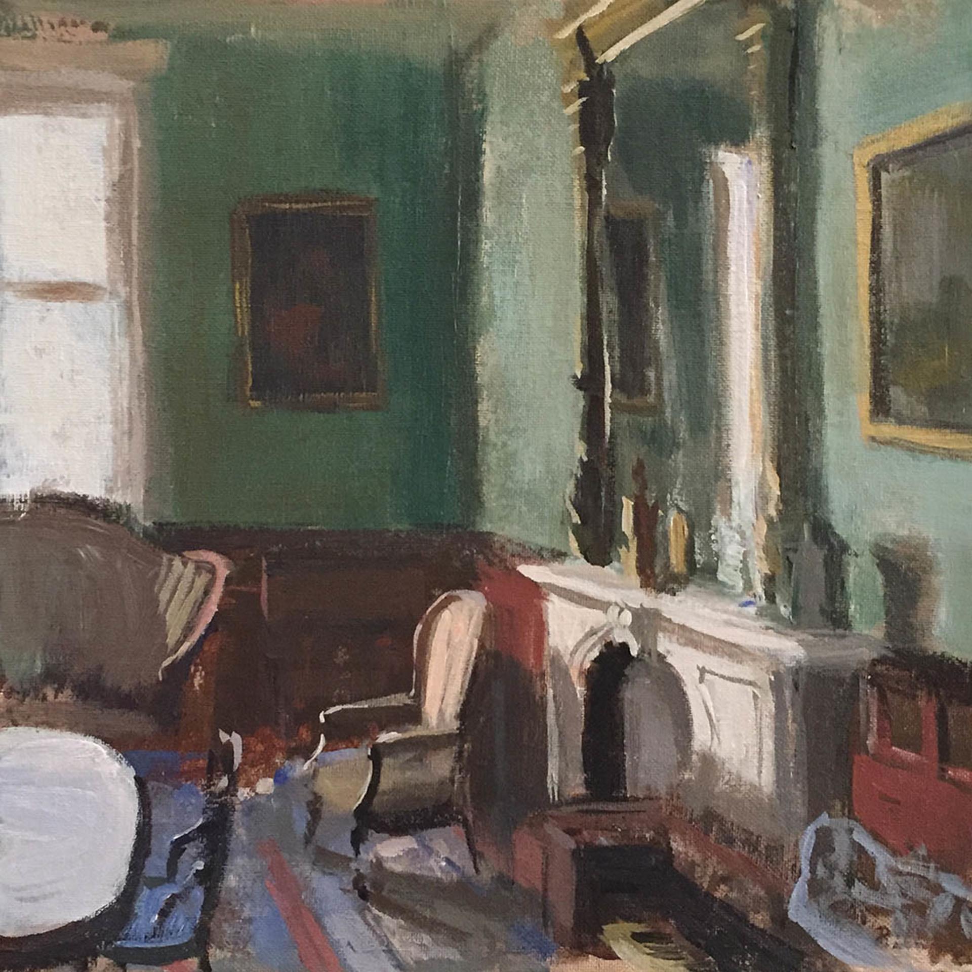The Green Room by Joe Gyurcsak