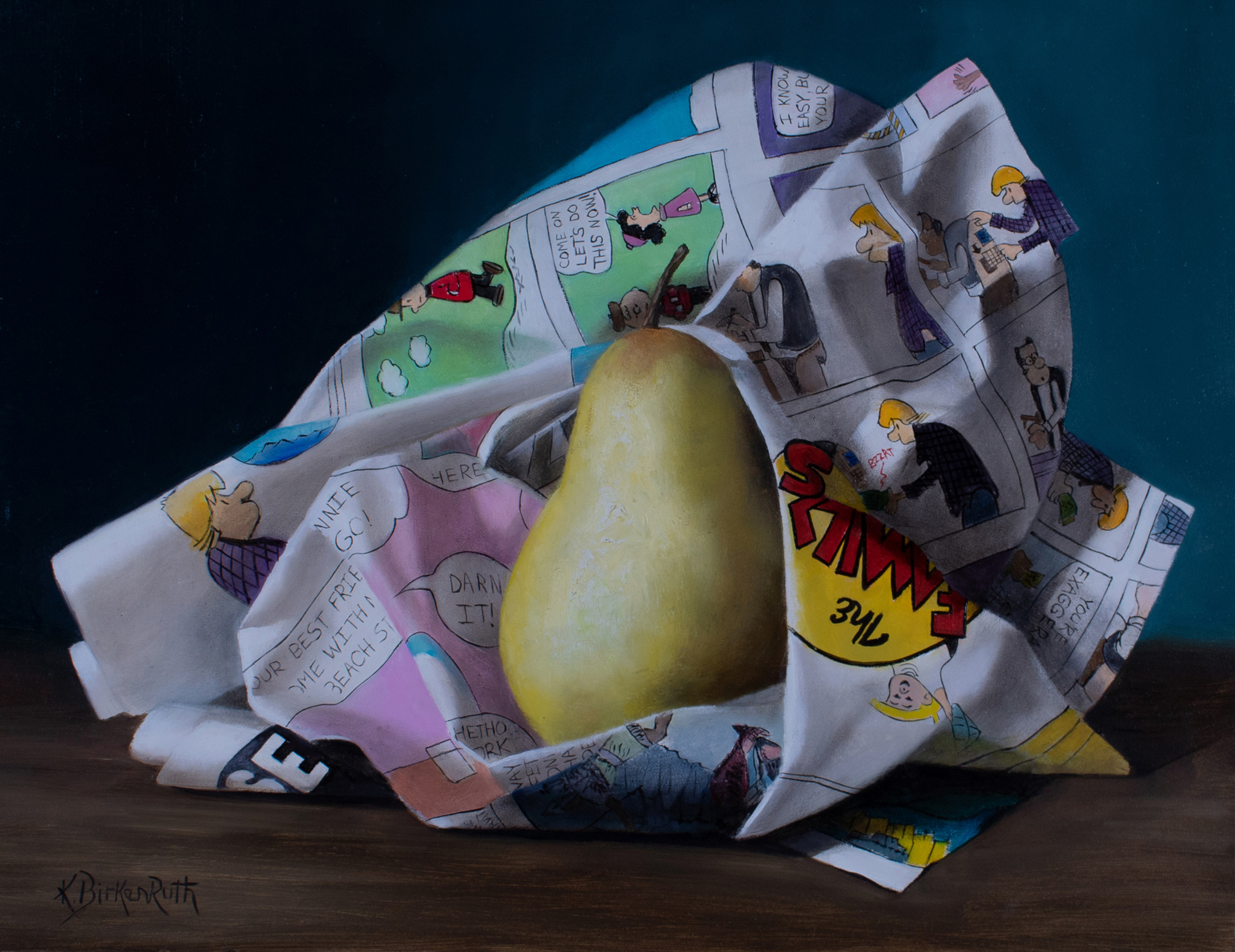 Covered in Comics by Kelly Birkenruth