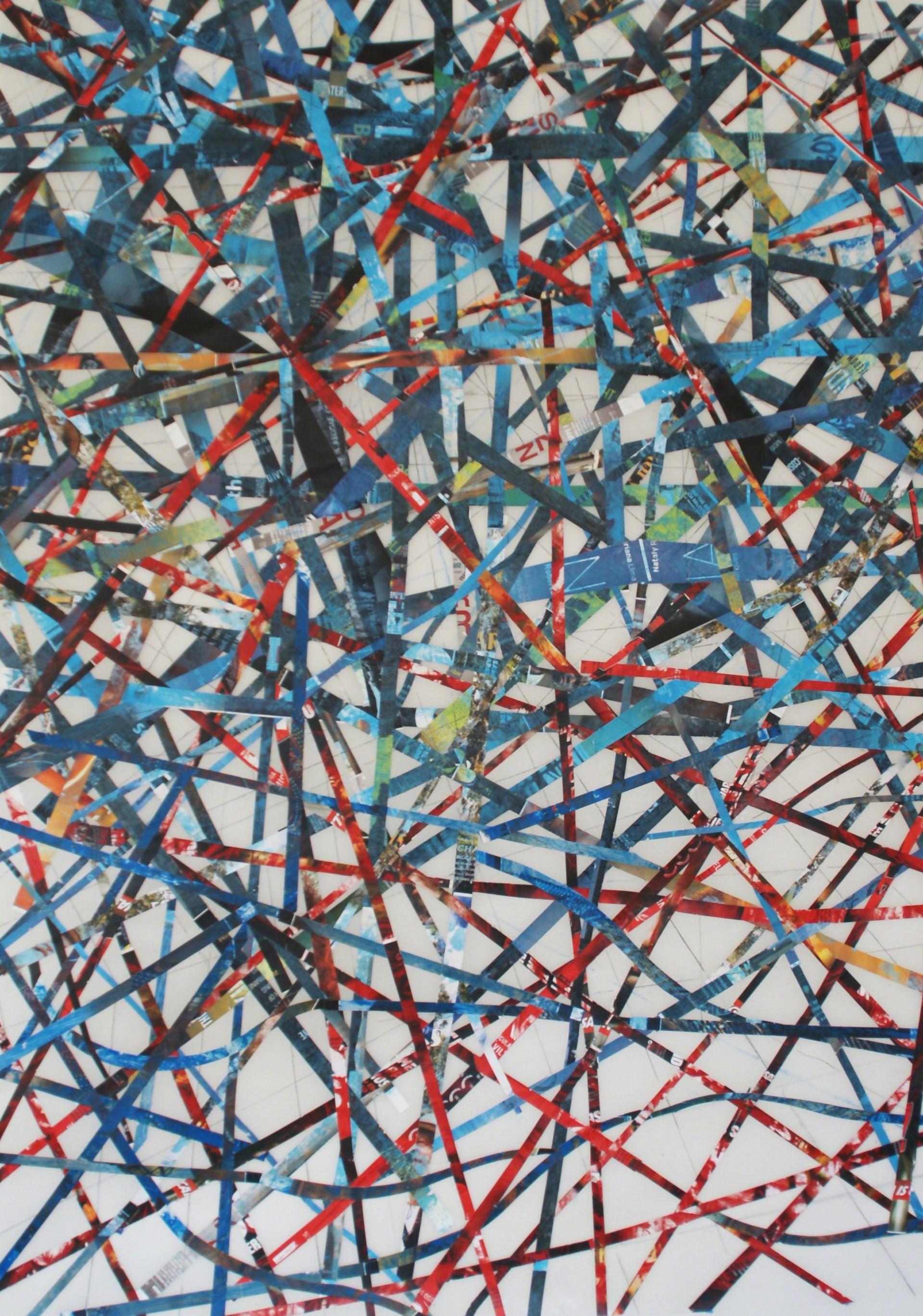 Red, White, Blue and Black by GA Gardner