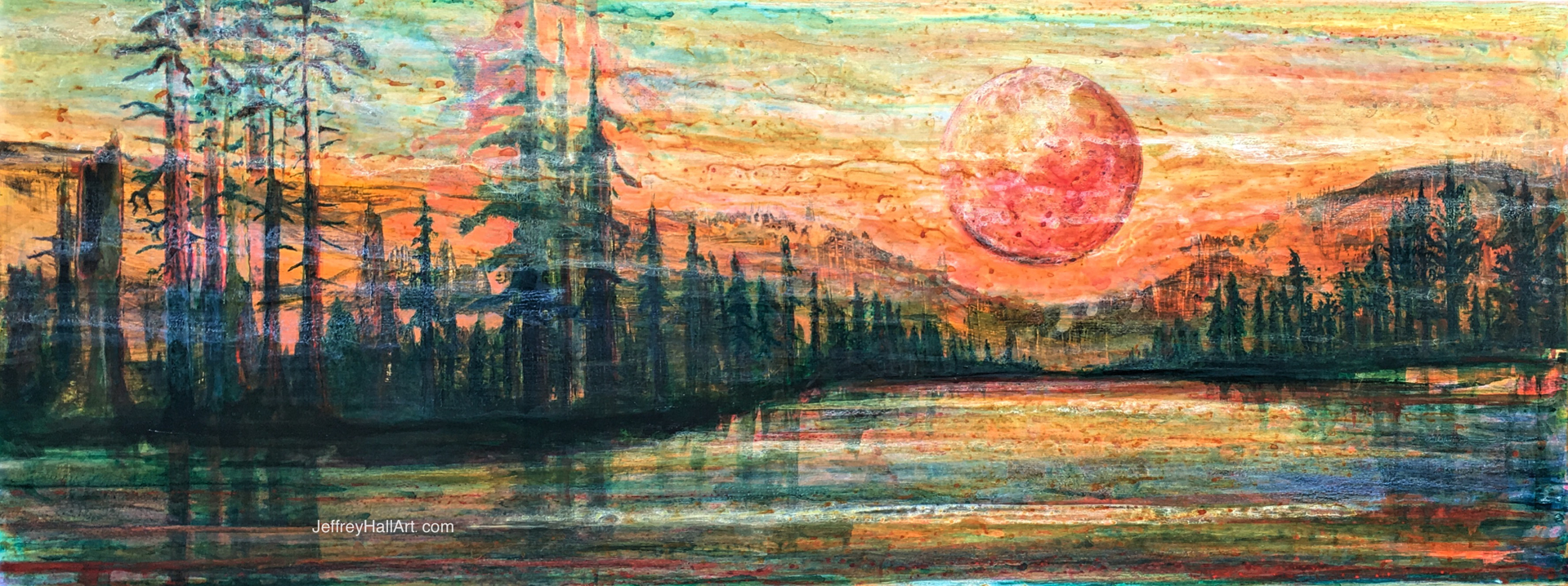 Red Moon by Jeff Hall (Forest Grove, OR)