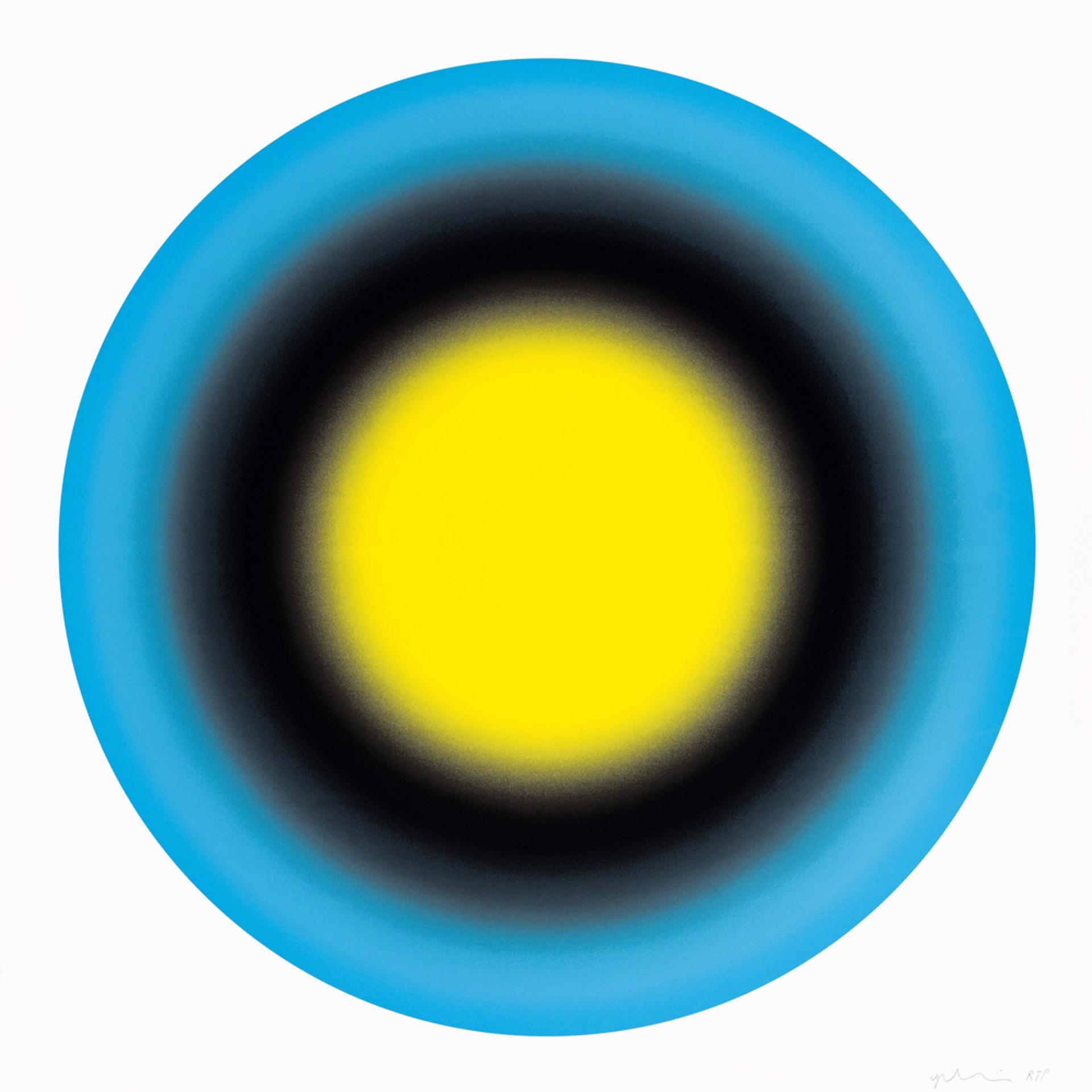 SMALL SUN 1, 2019 by Ugo Rondinone