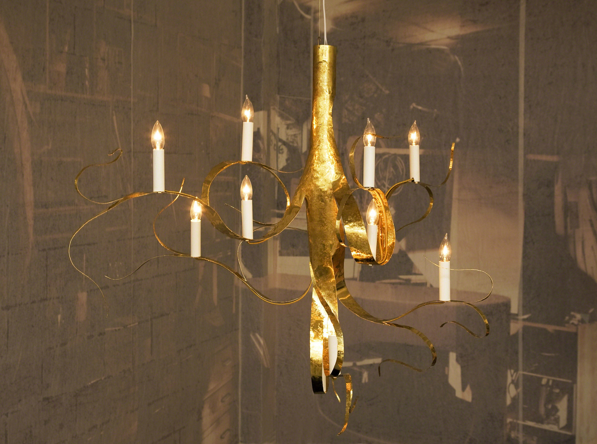 """Fiori"" Chandelier  by Jacques Jarrige"