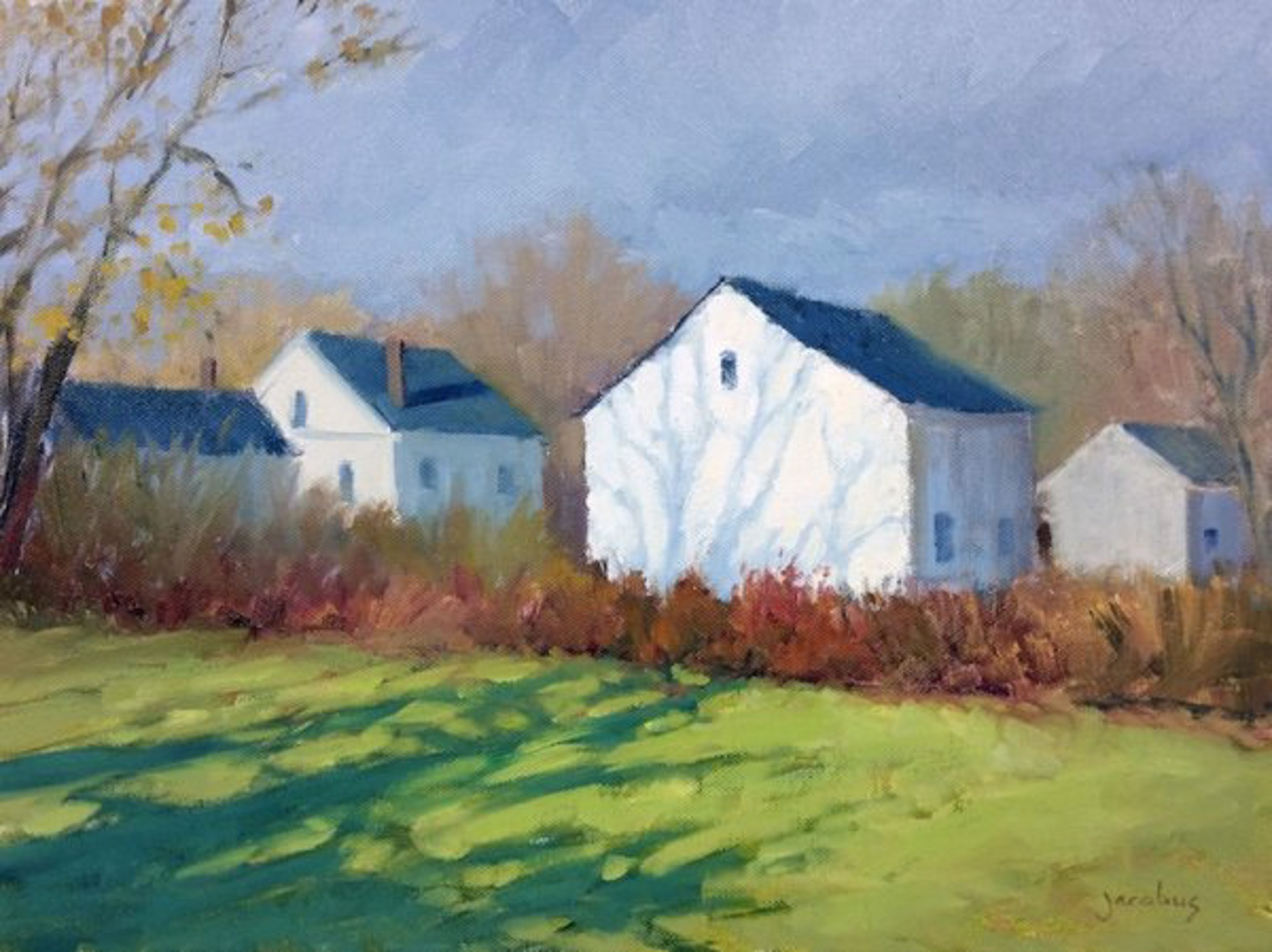 Jacobus:Shadows On The Barn by Jacobus Baas