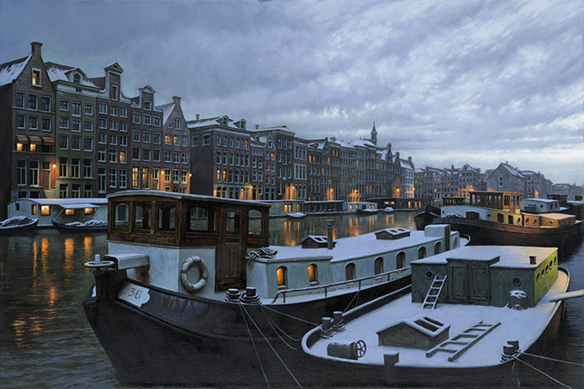 December Skies by Alexei Butirskiy