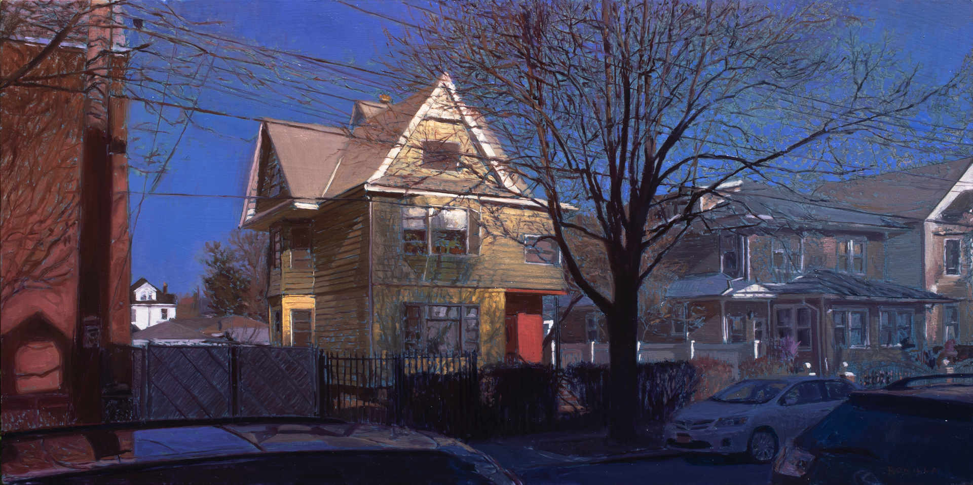 Across the street from Mom and Dads by Raymond Bonilla